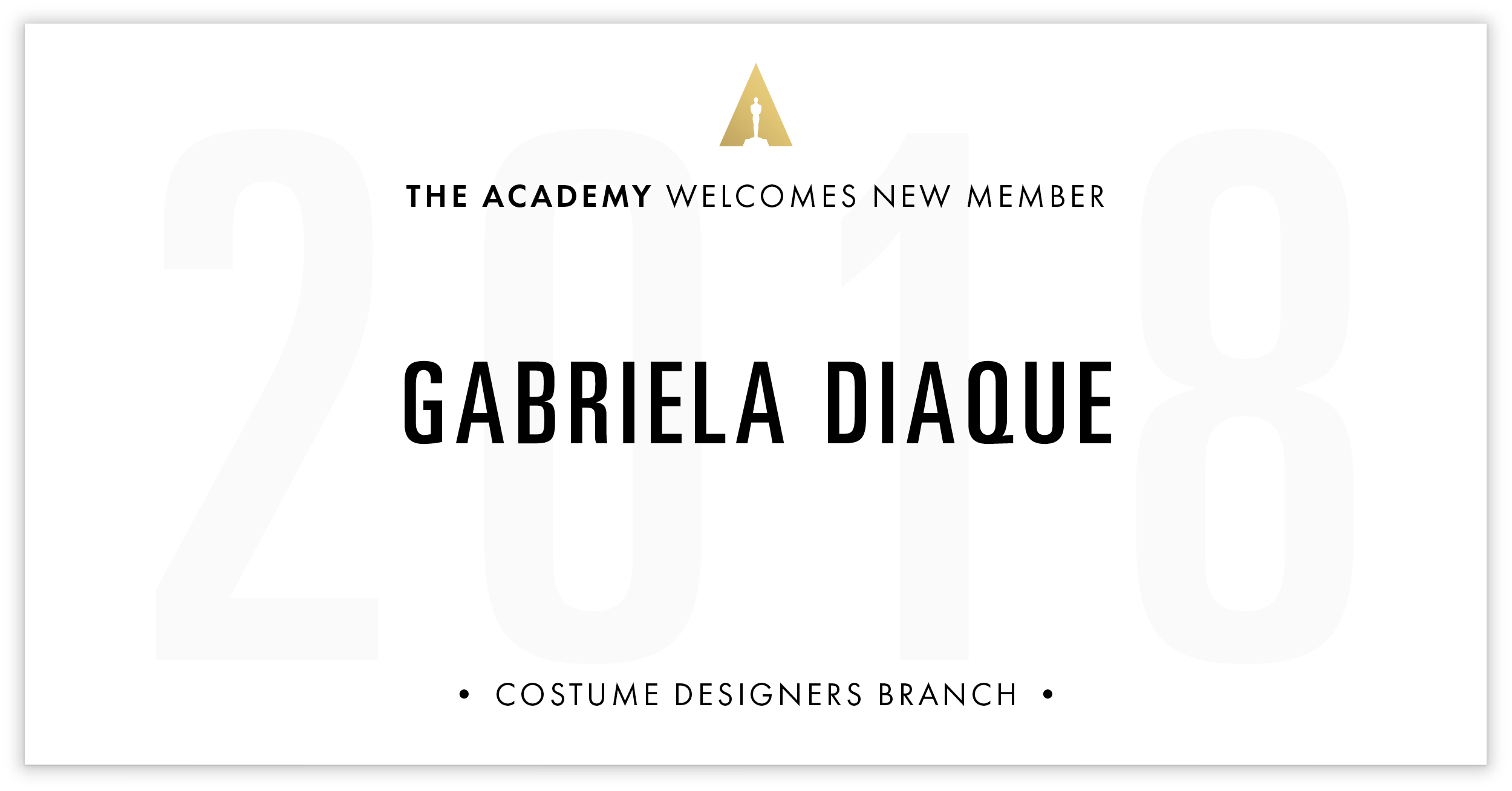 Gabriela Diaque is invited!