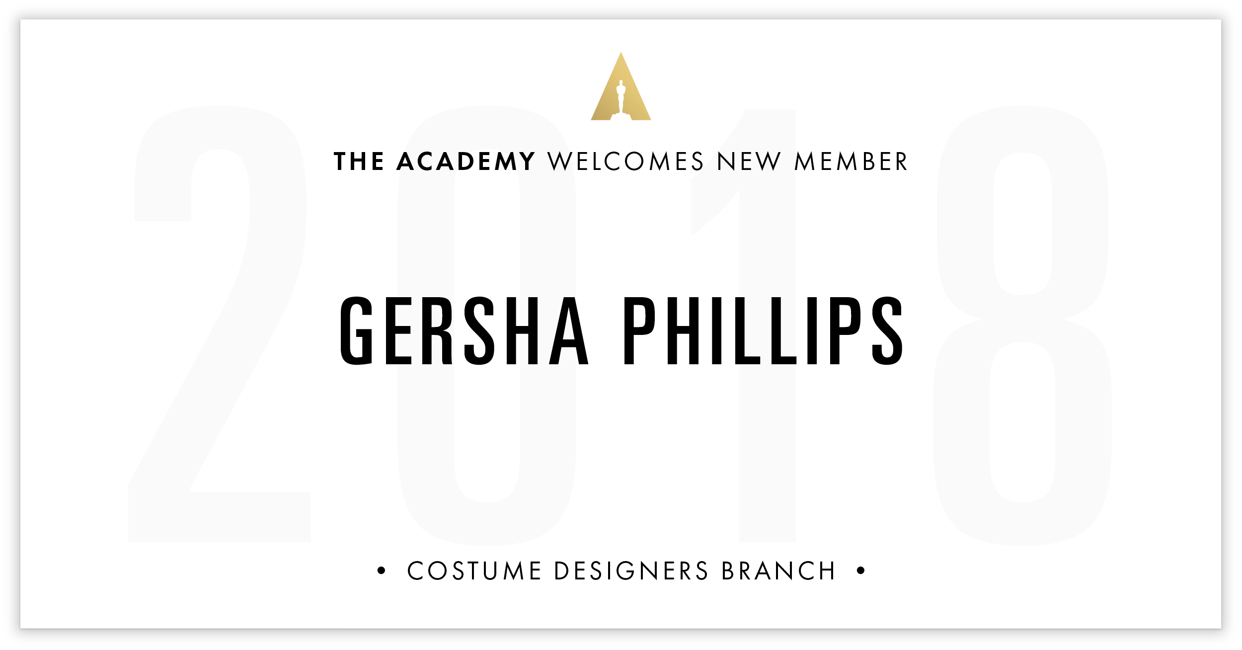 Gersha Phillips is invited!