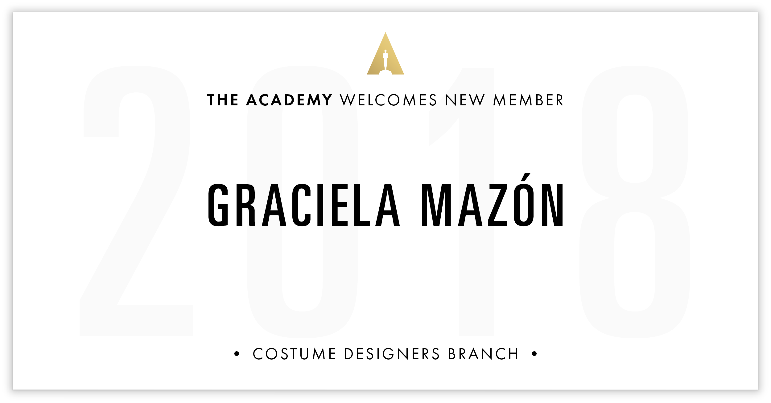 Graciela Mazón is invited!