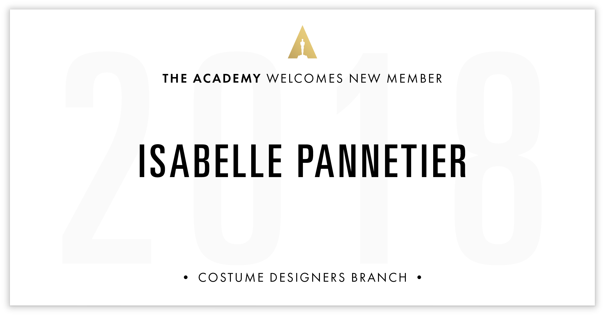 Isabelle Pannetier is invited!