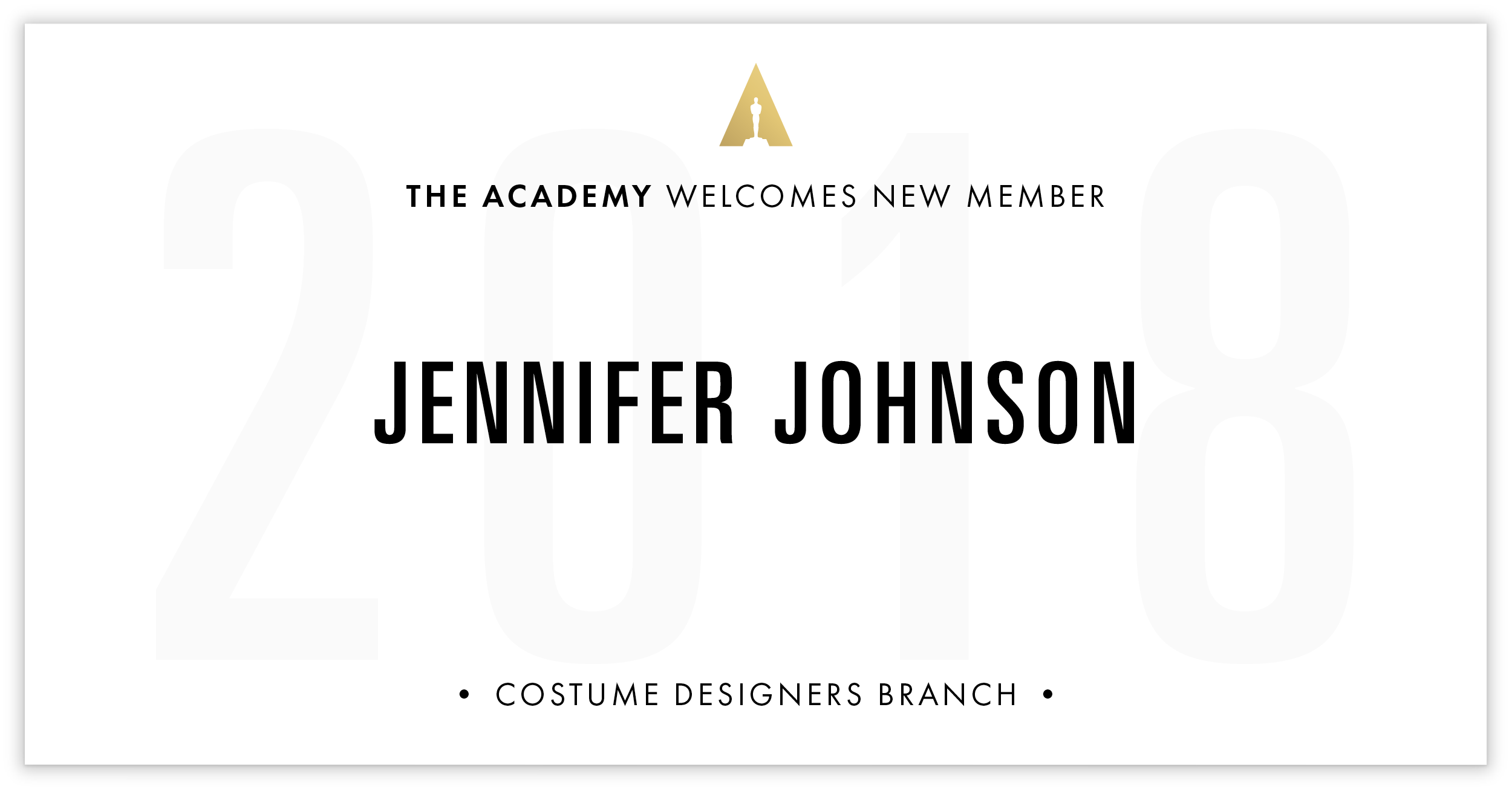 Jennifer Johnson is invited!