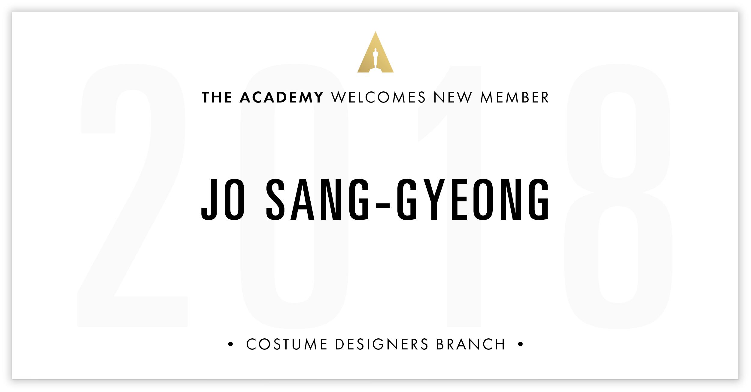 Jo Sang-Gyeong is invited!