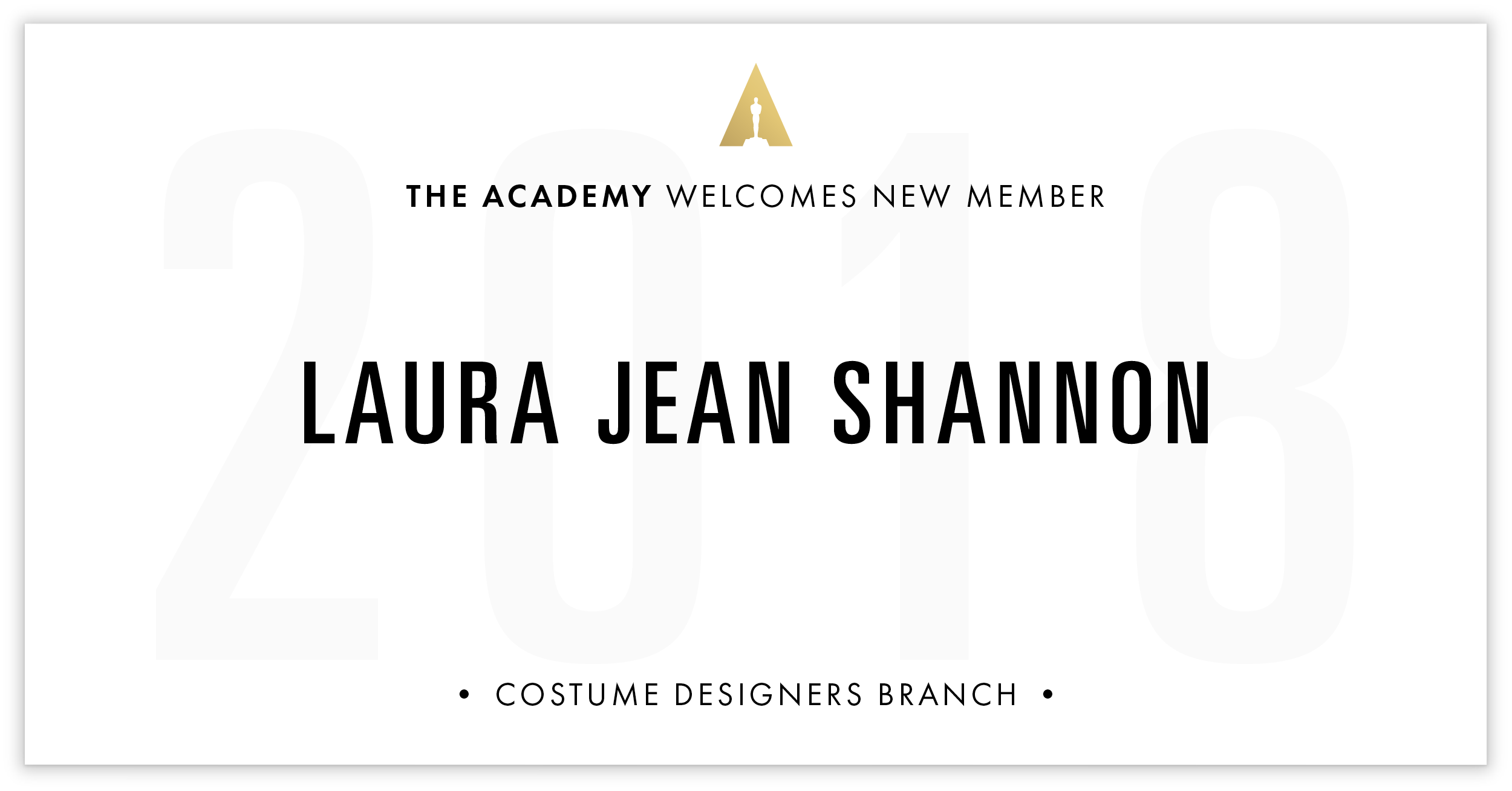 Laura Jean Shannon is invited!
