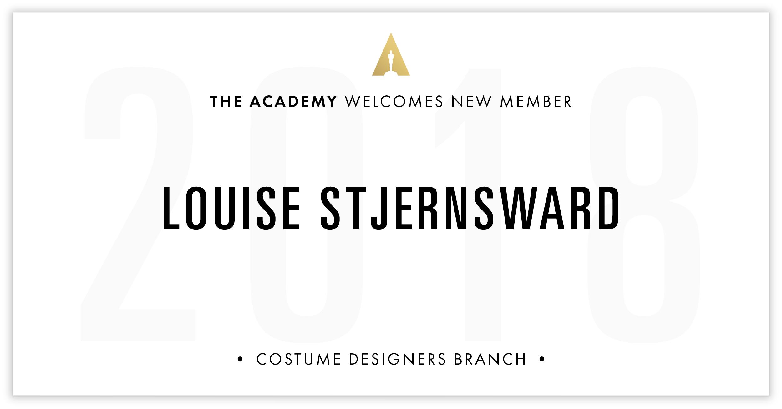 Louise Stjernsward is invited!