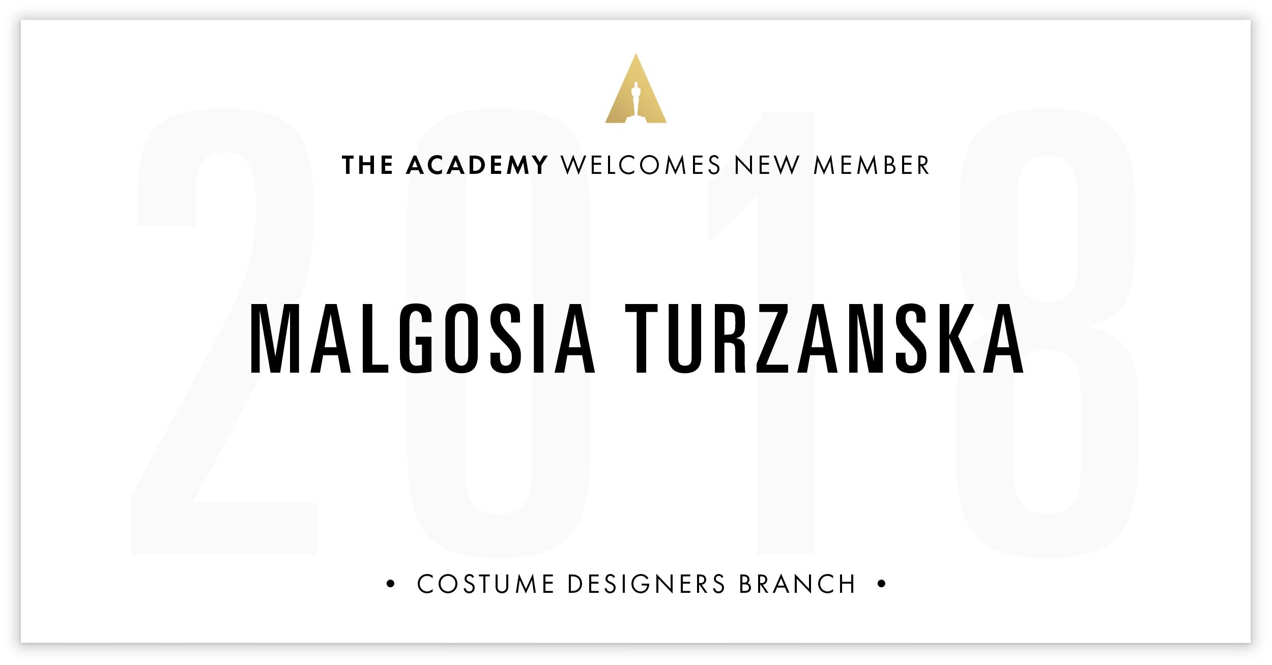 Malgosia Turzanska is invited!