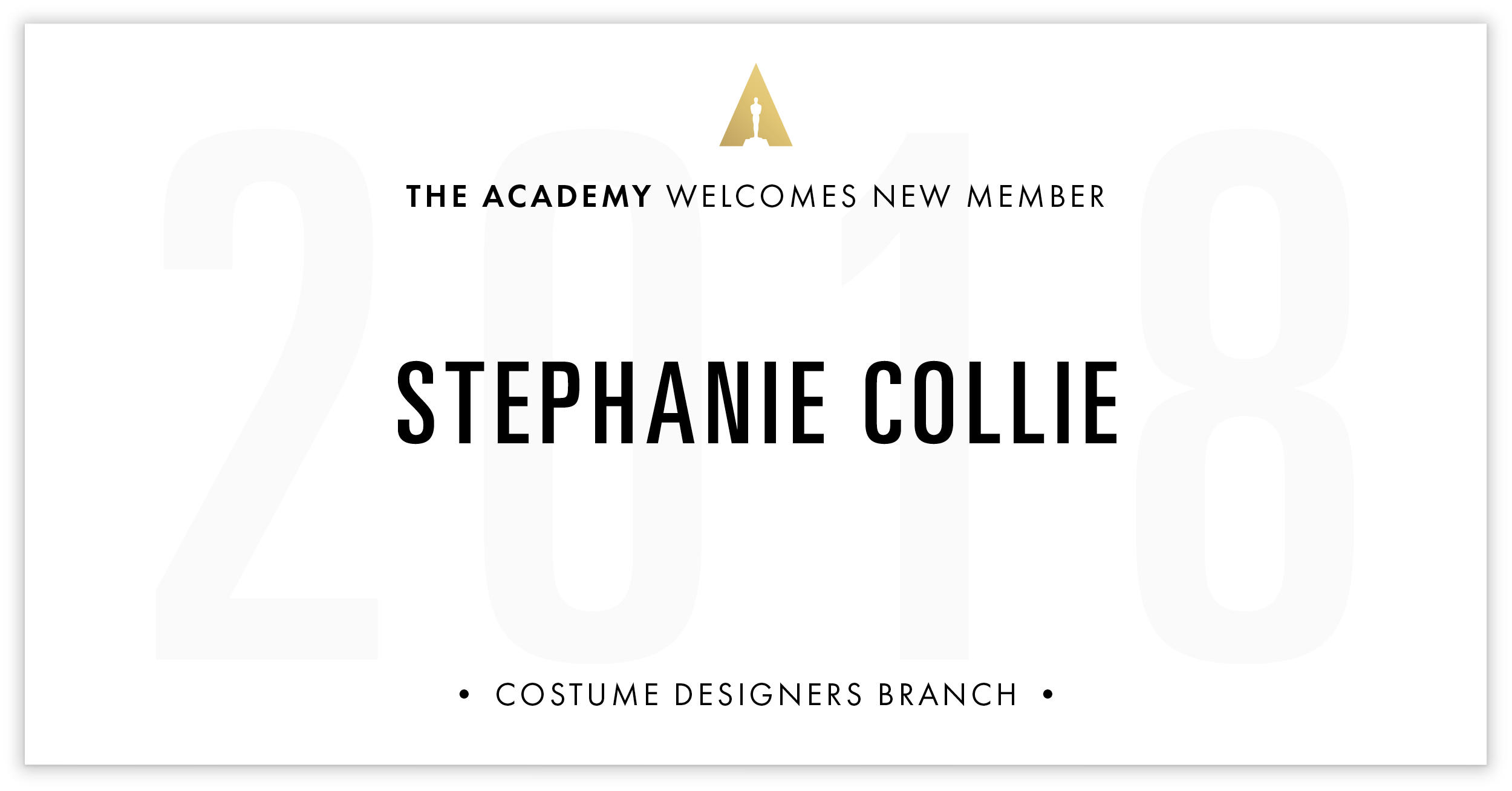 Stephanie Collie is invited!