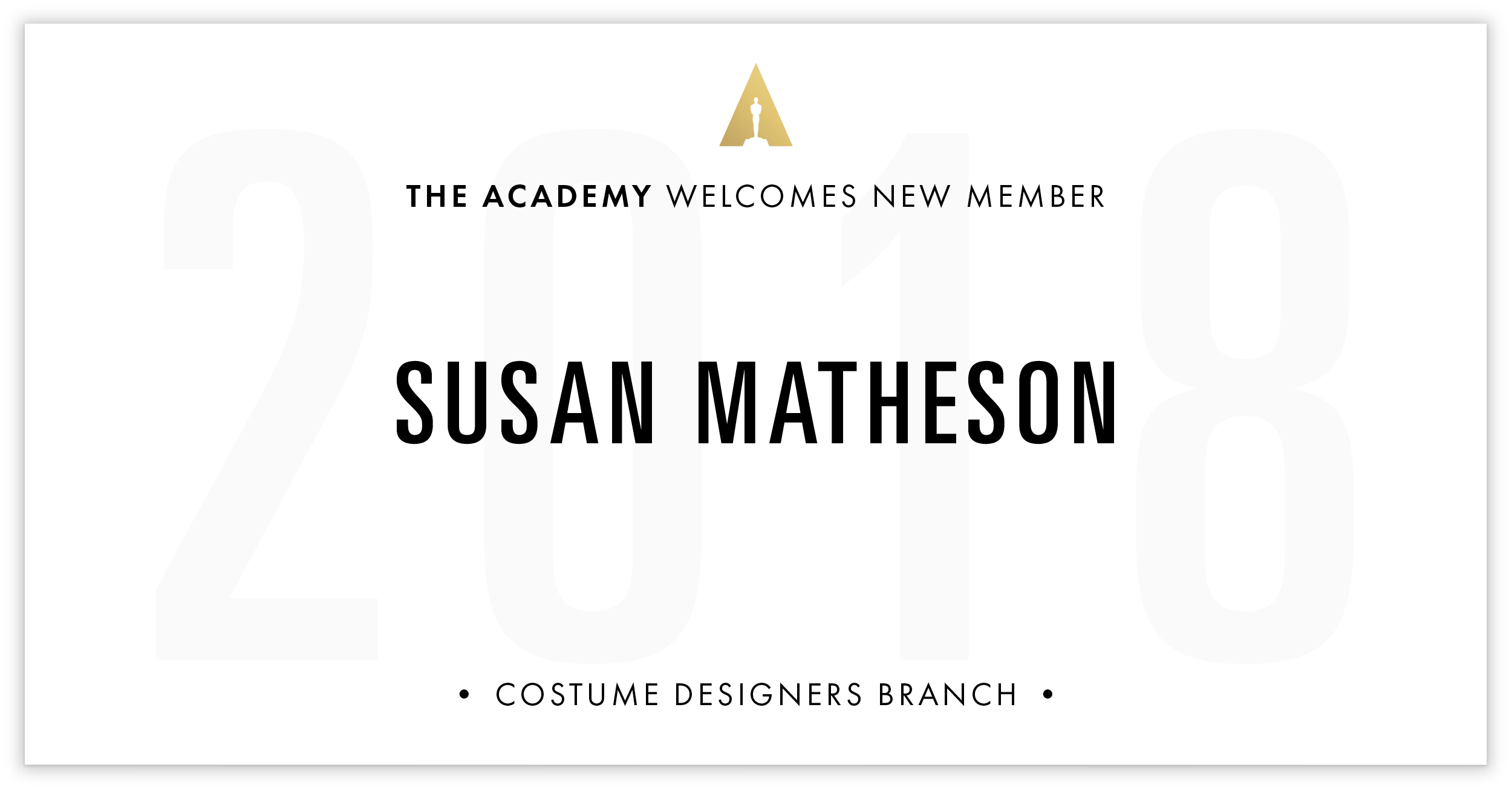 Susan Matheson is invited!