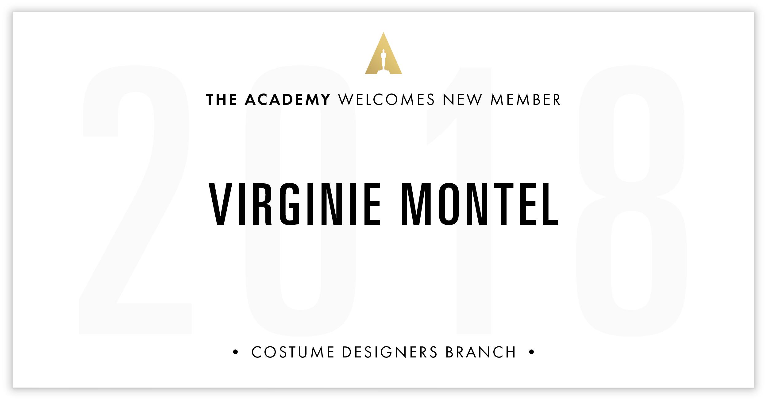 Virginie Montel is invited!