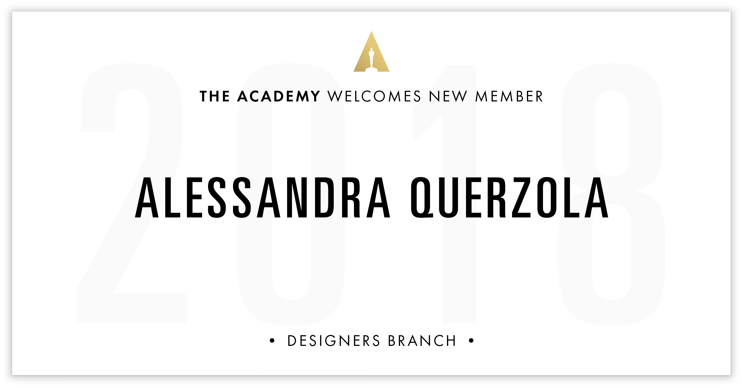 Alessandra Querzola is invited!