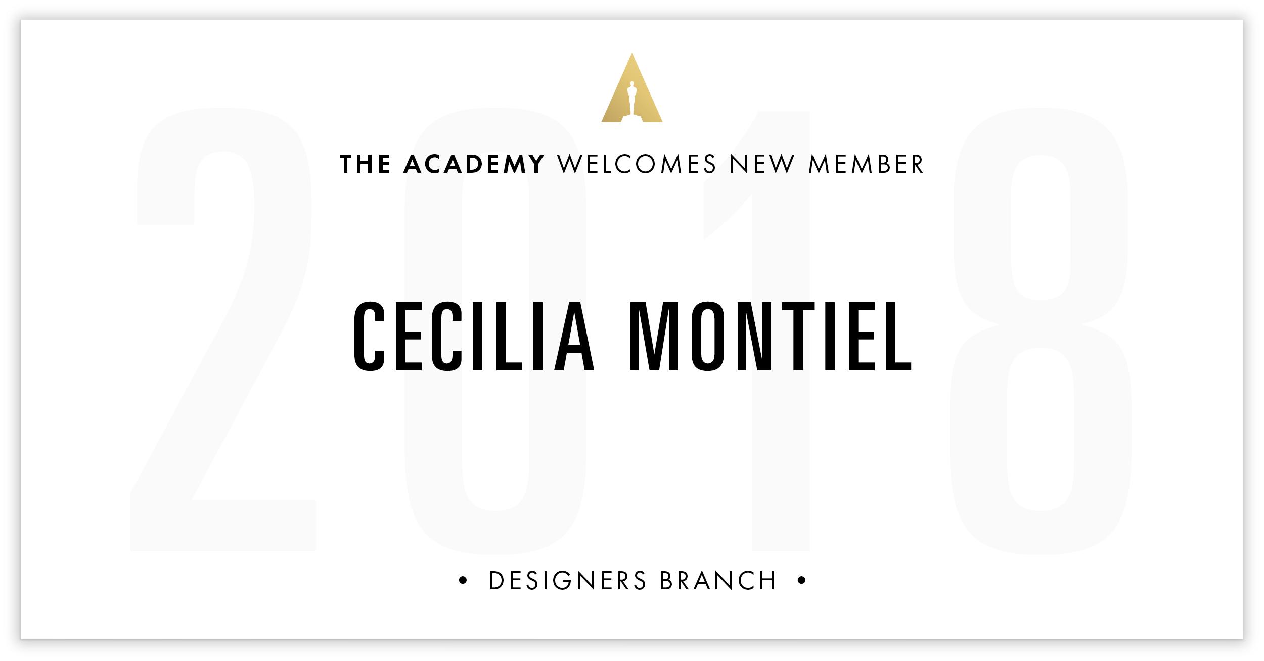 Cecilia Montiel is invited!