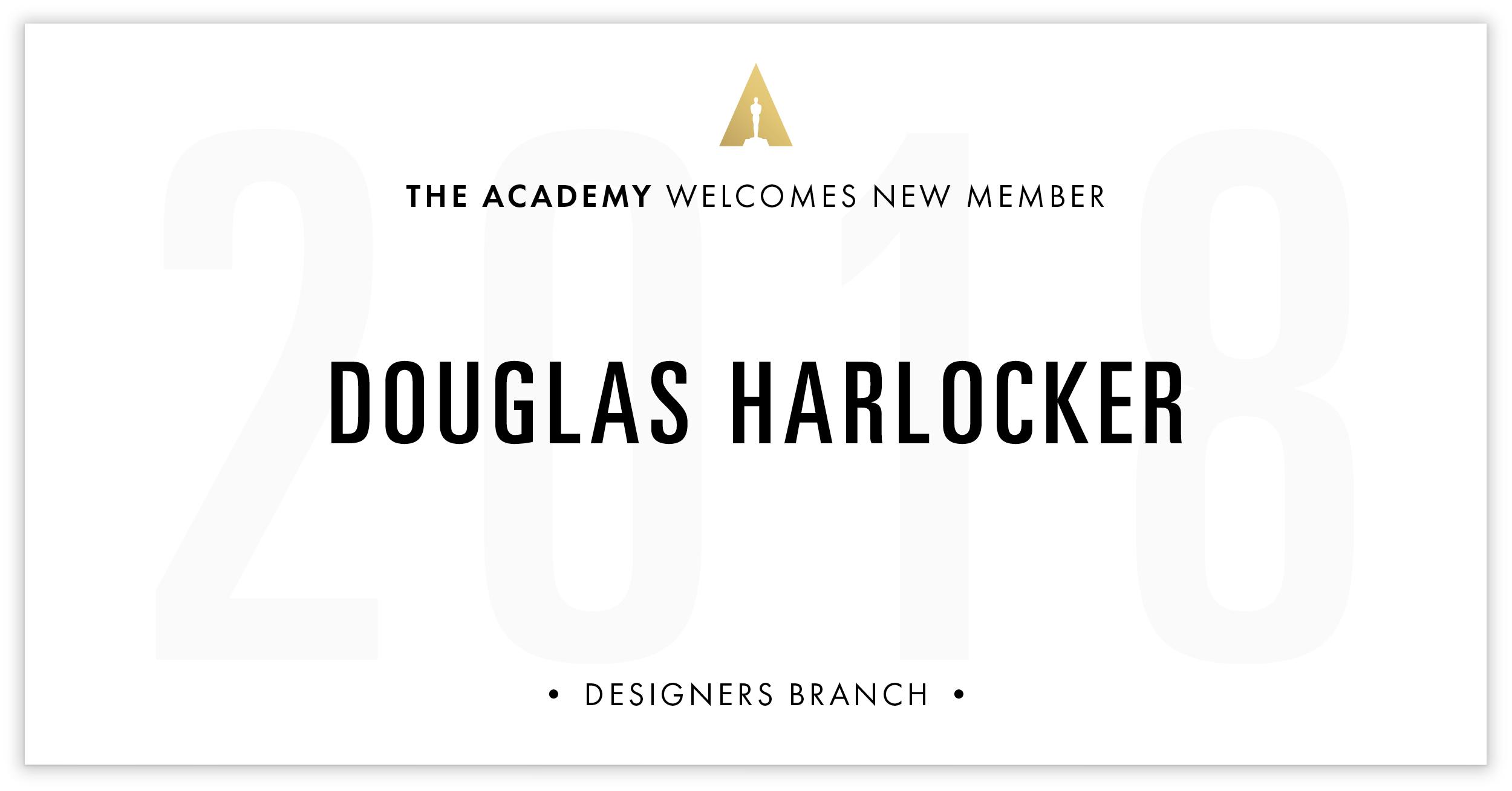 Douglas Harlocker is invited!