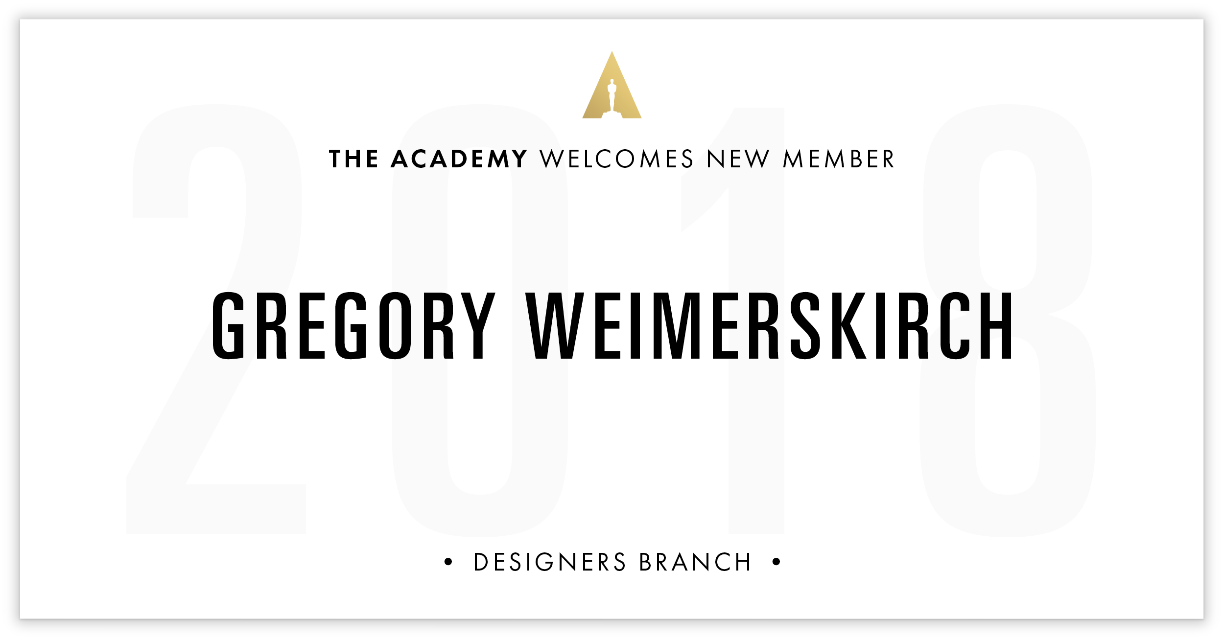 Gregory Weimerskirch is invited!