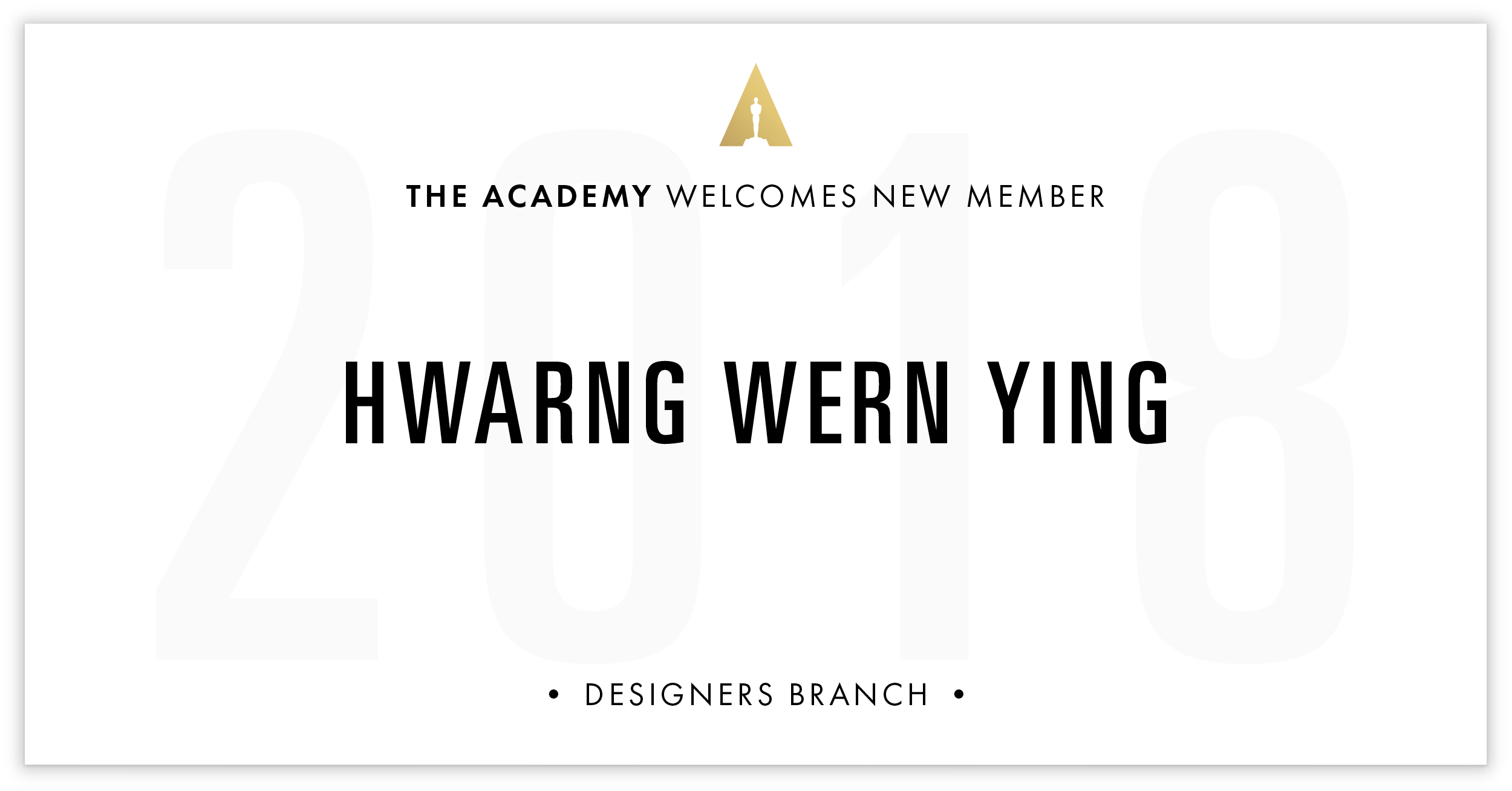Hwarng Wern Ying is invited!