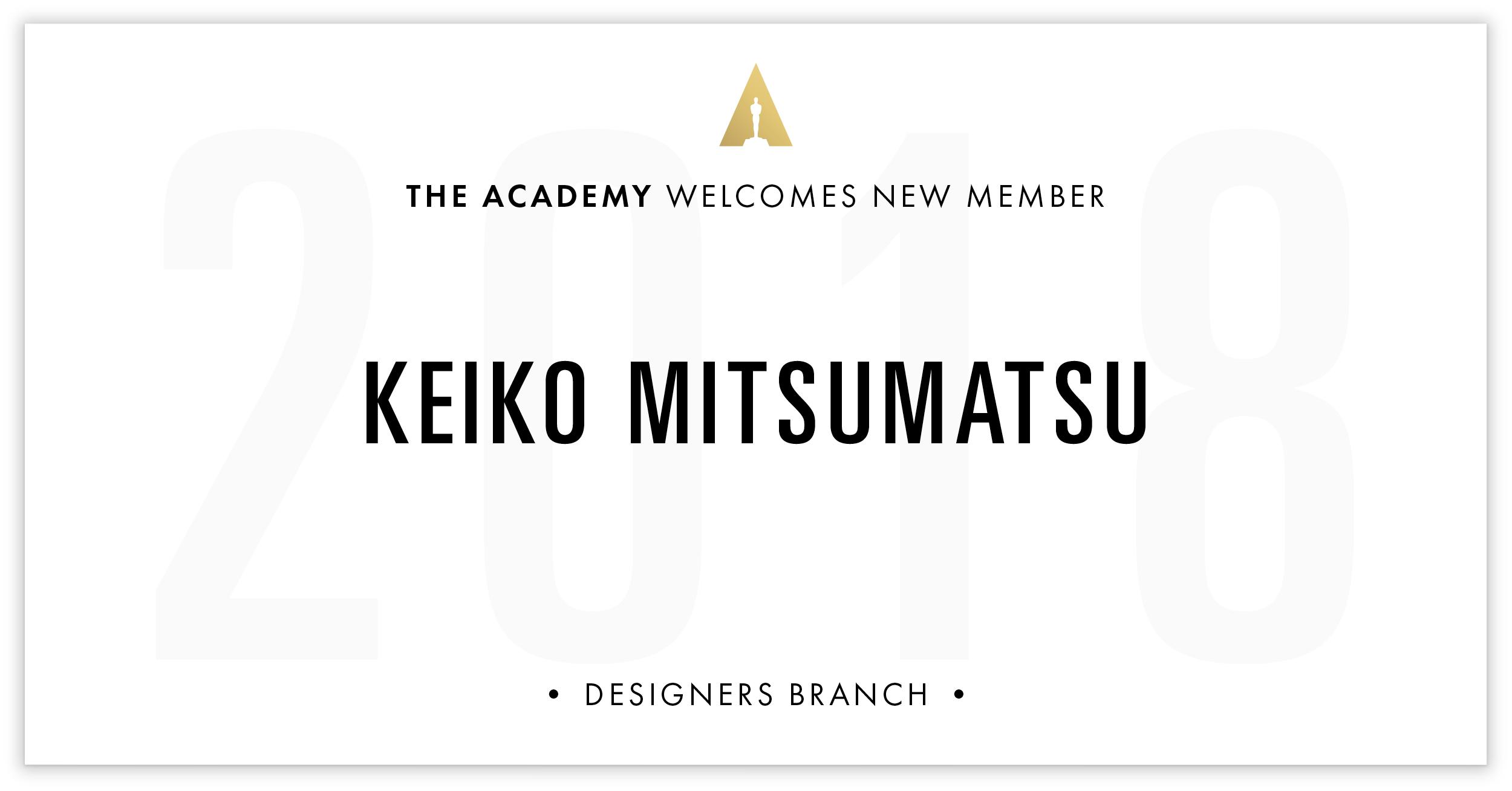 Keiko Mitsumatsu is invited!