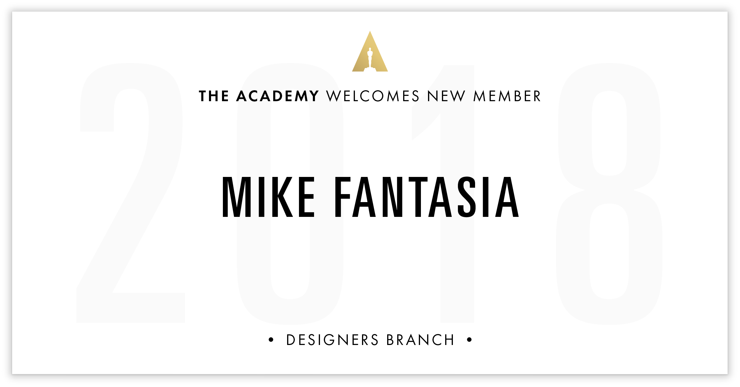 Mike Fantasia is invited!