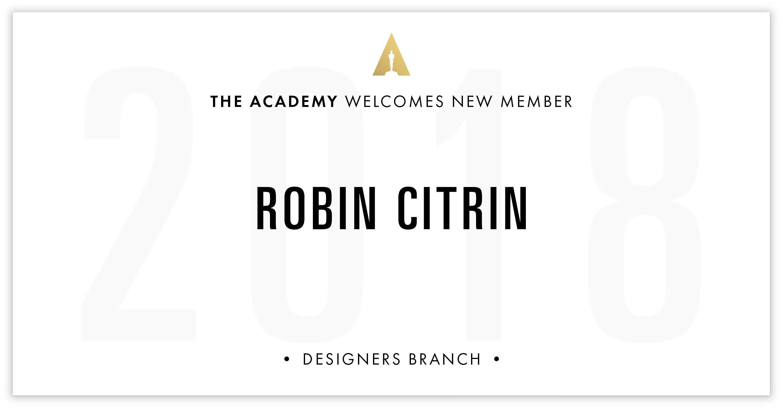 Robin Citrin is invited!
