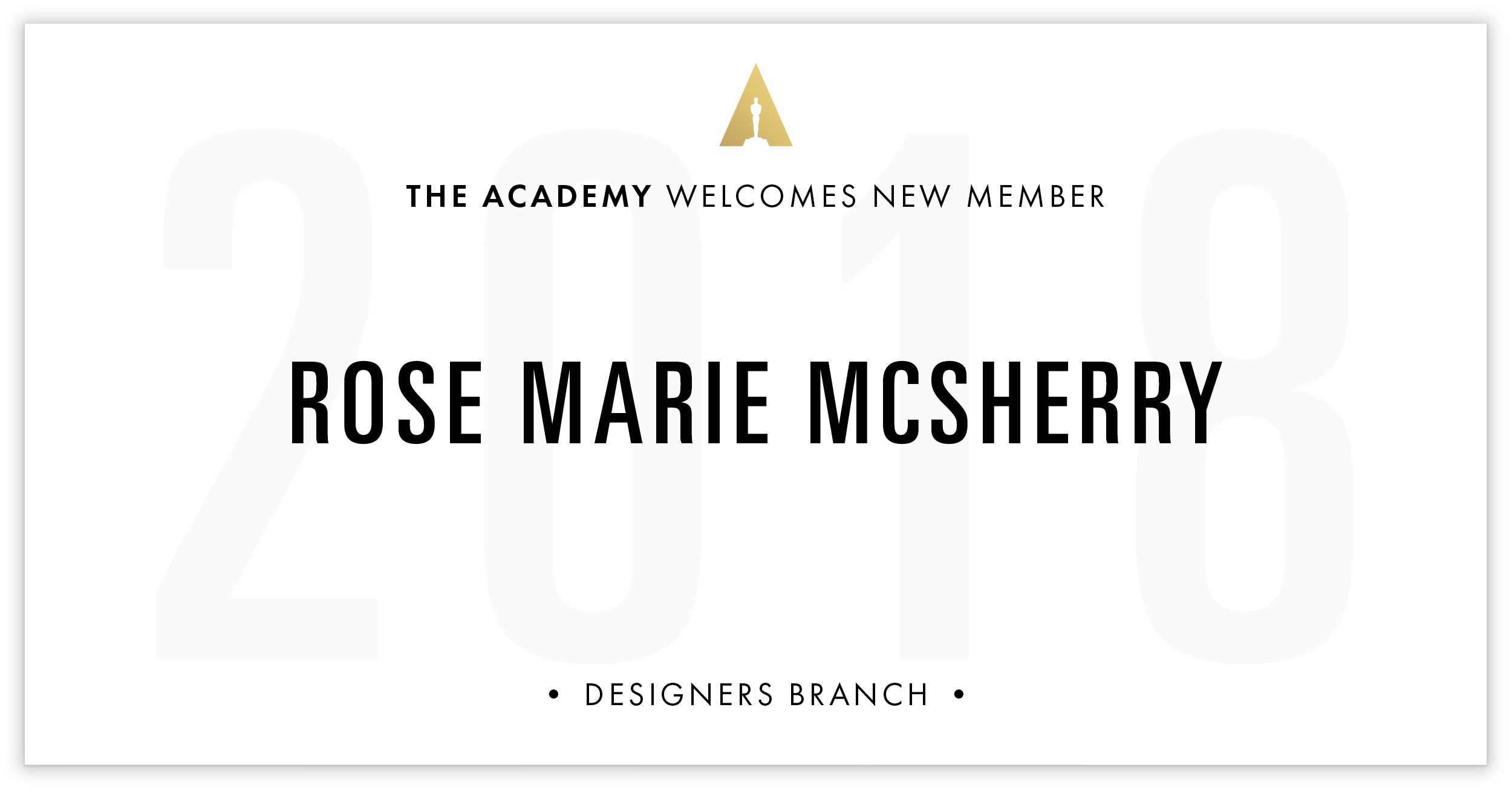 Rose Marie McSherry is invited!