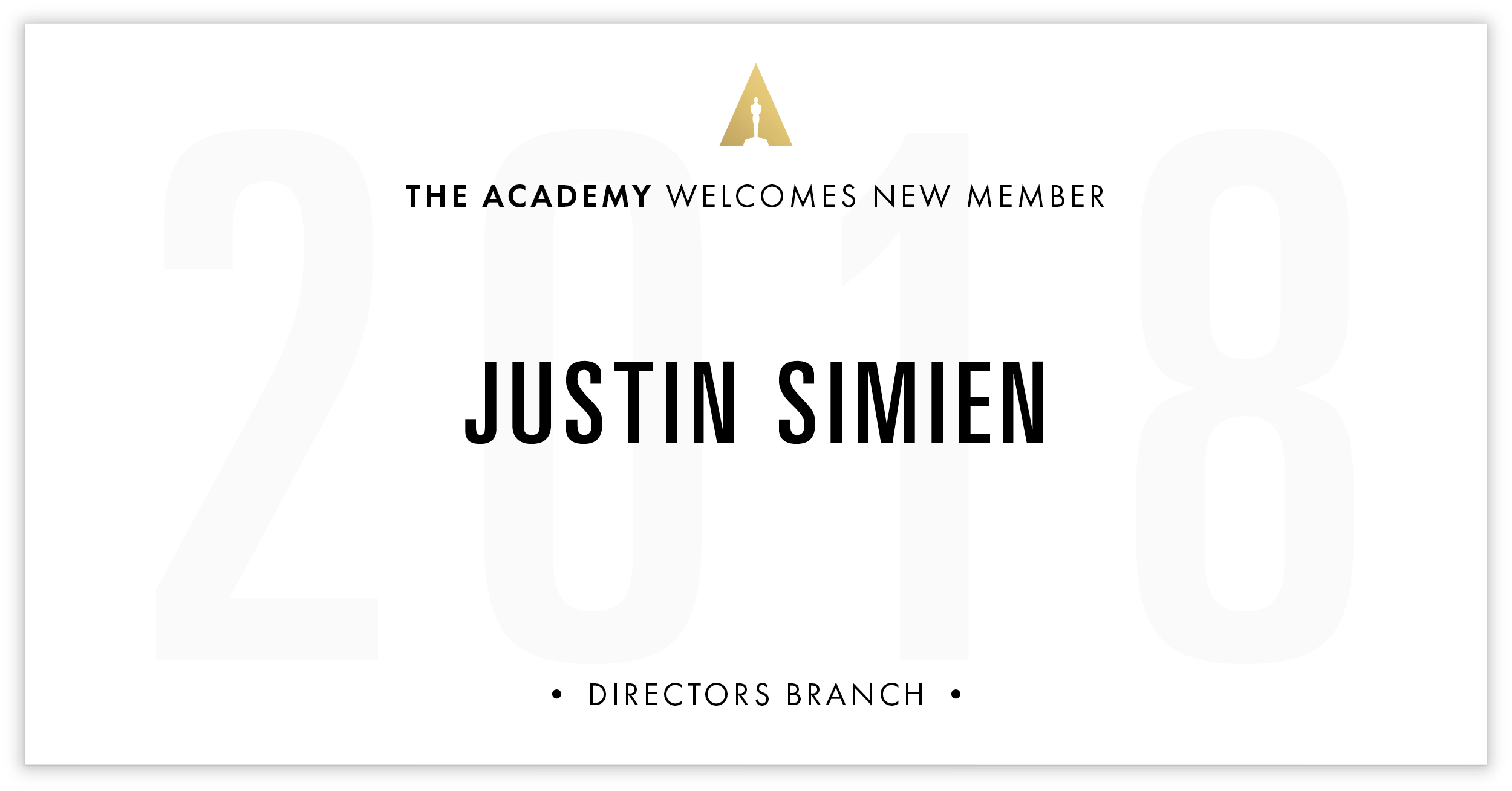 Justin Simien is invited!