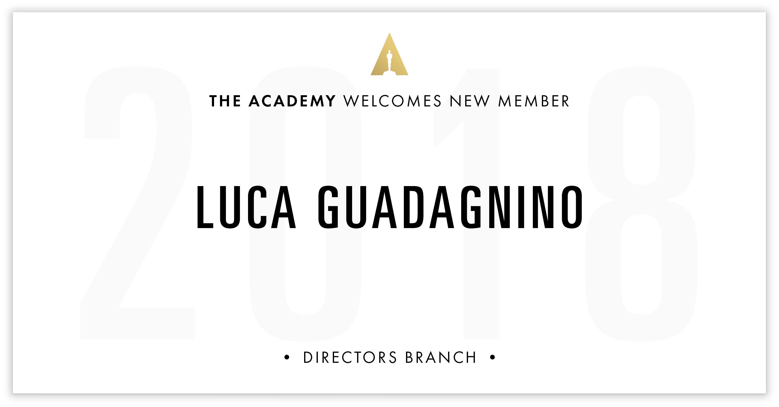 Luca Guadagnino is invited!