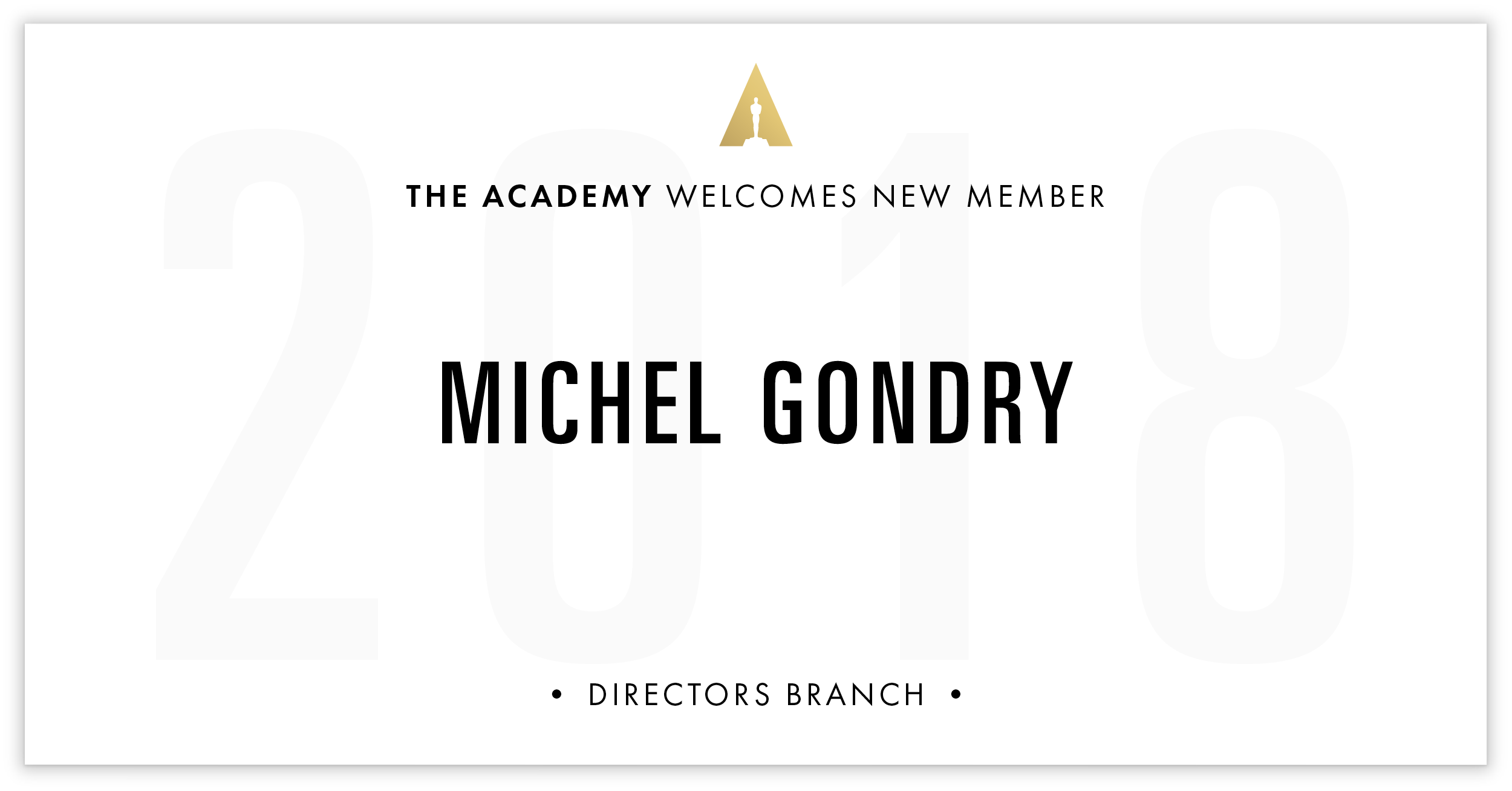 Michel Gondry is invited!