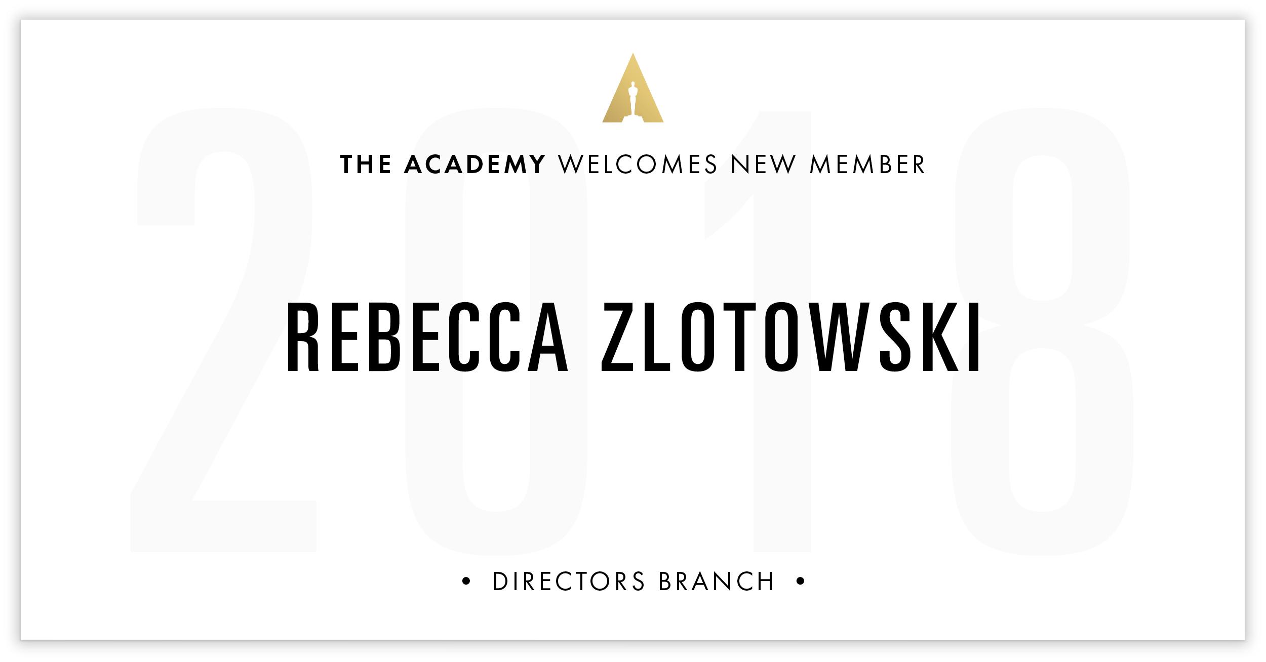 Rebecca Zlotowski is invited!