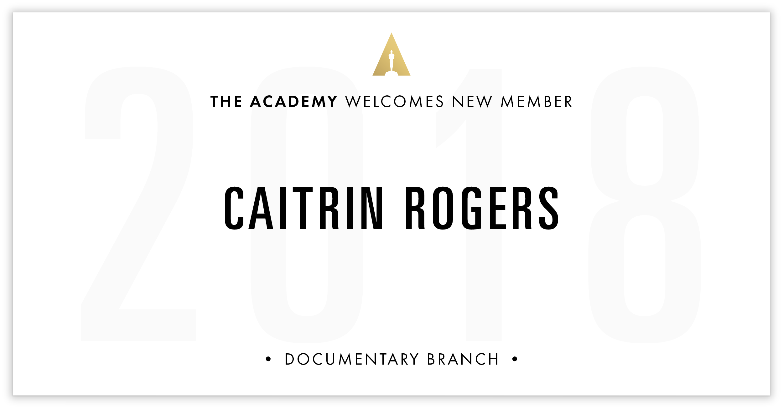 Caitrin Rogers is invited!