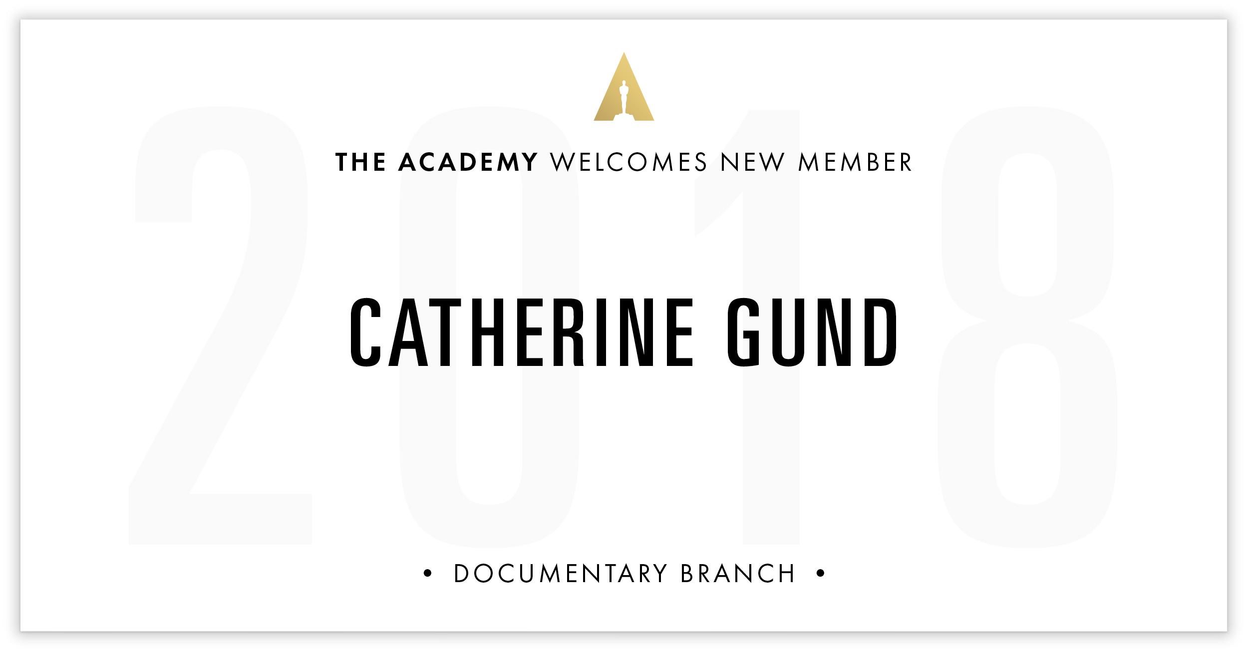Catherine Gund is invited!