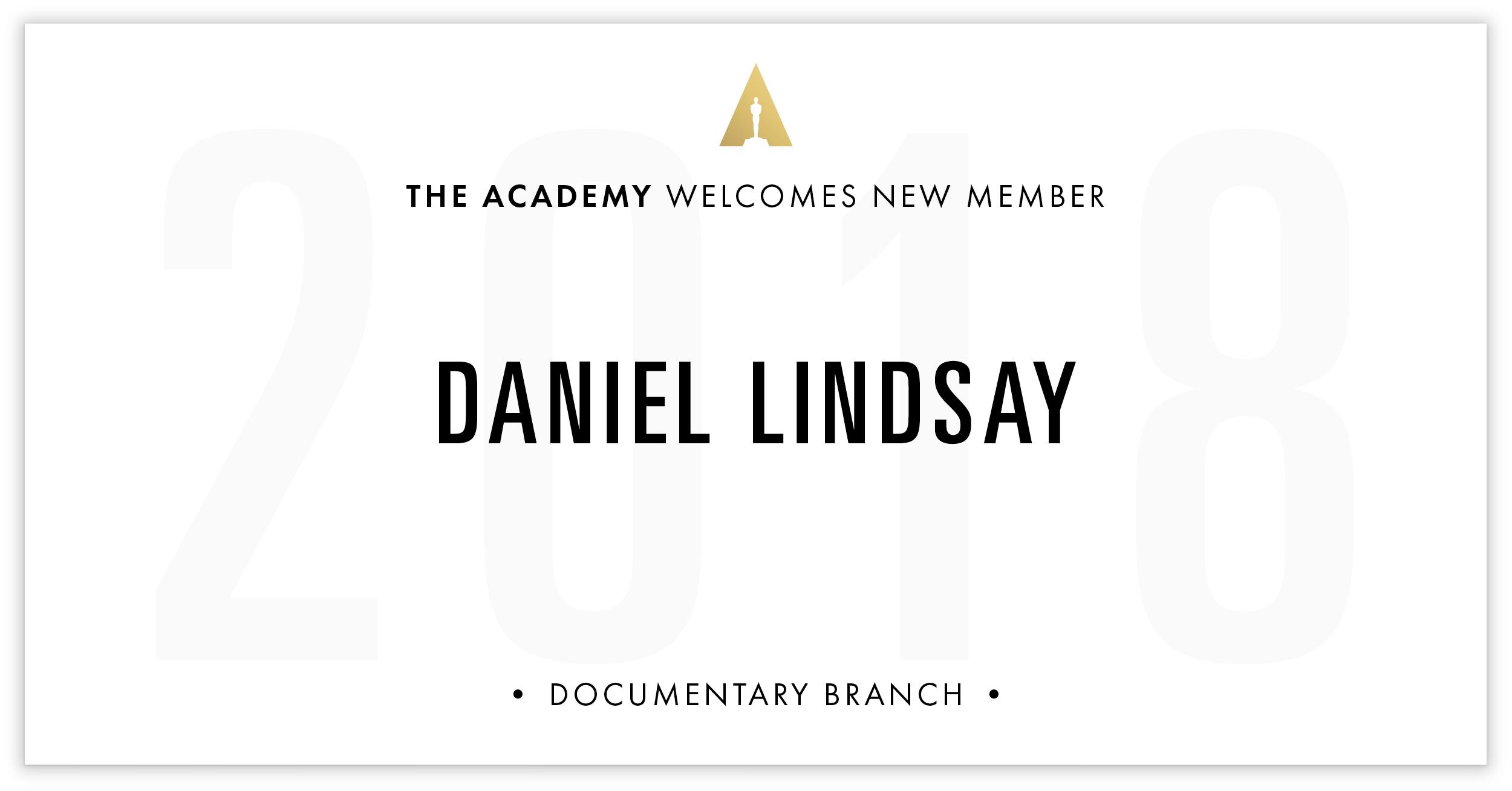 Daniel Lindsay is invited!