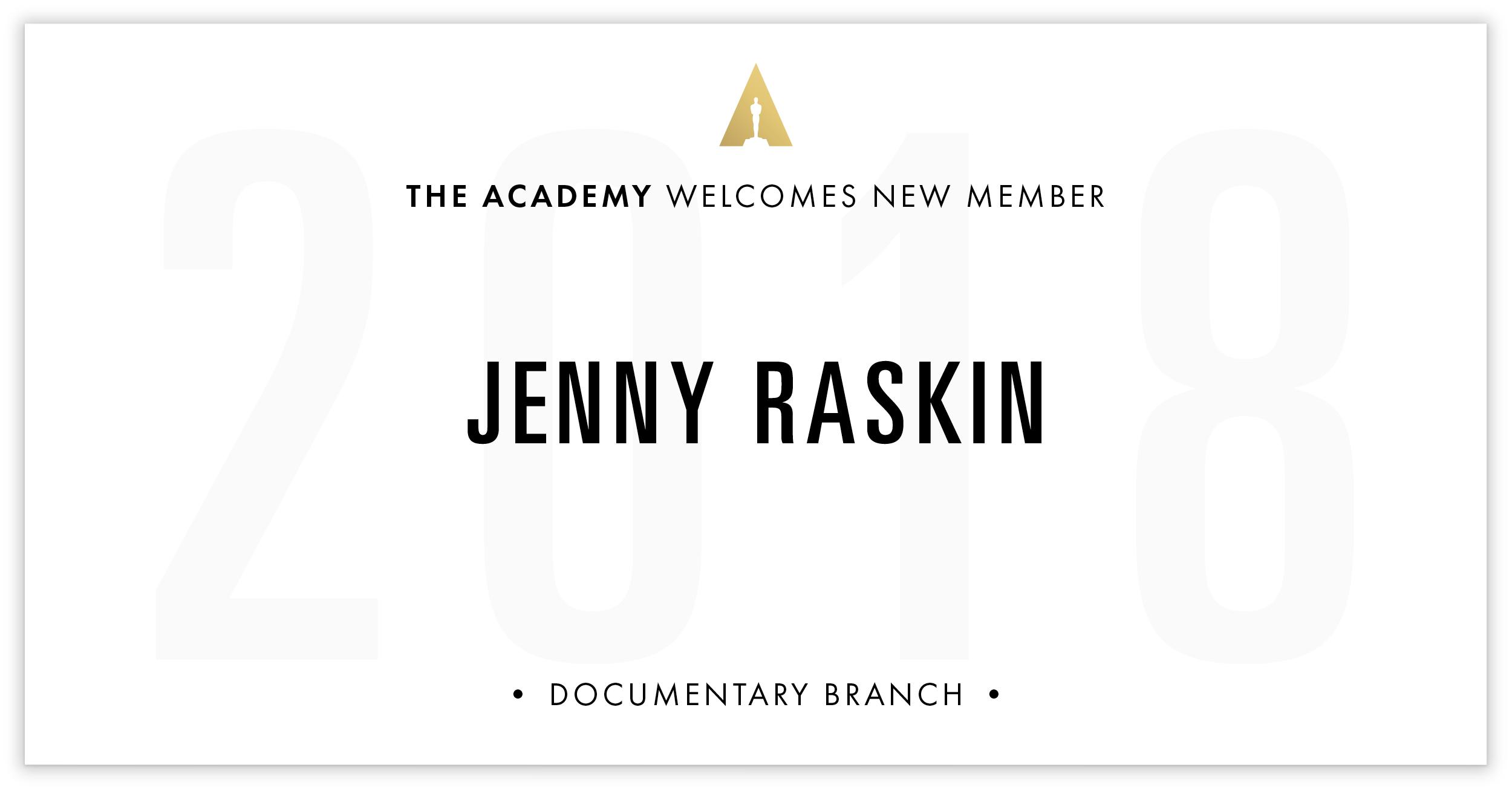 Jenny Raskin is invited!
