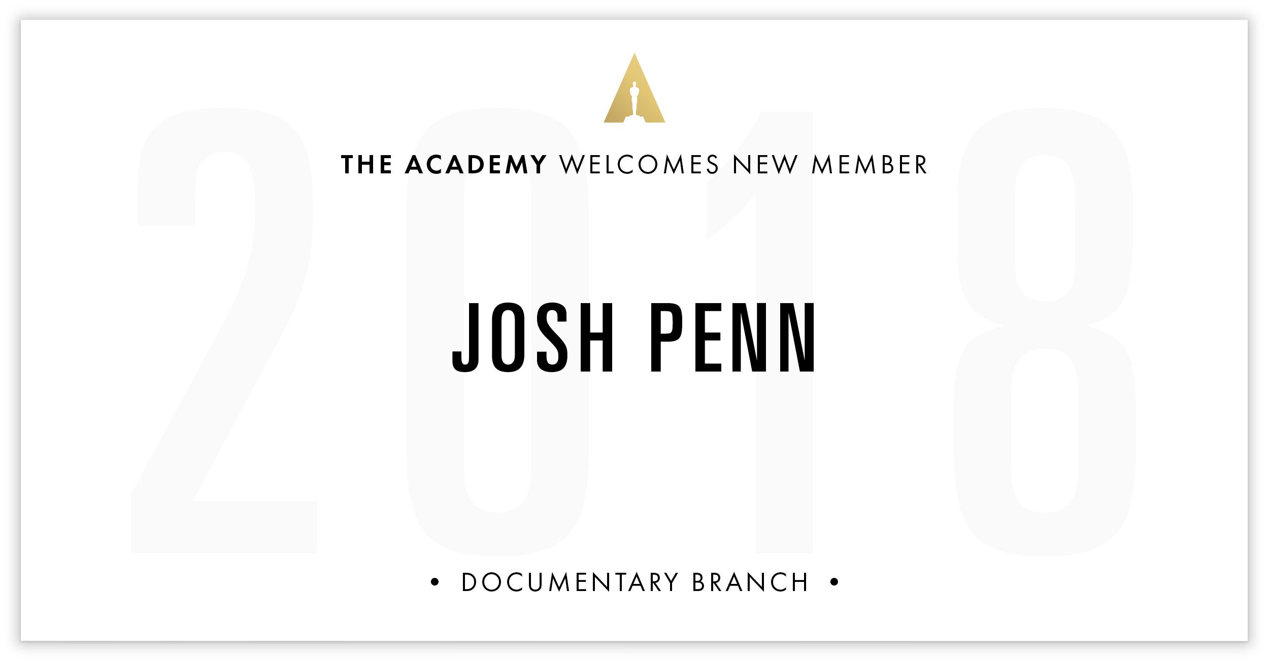 Josh Penn is invited!