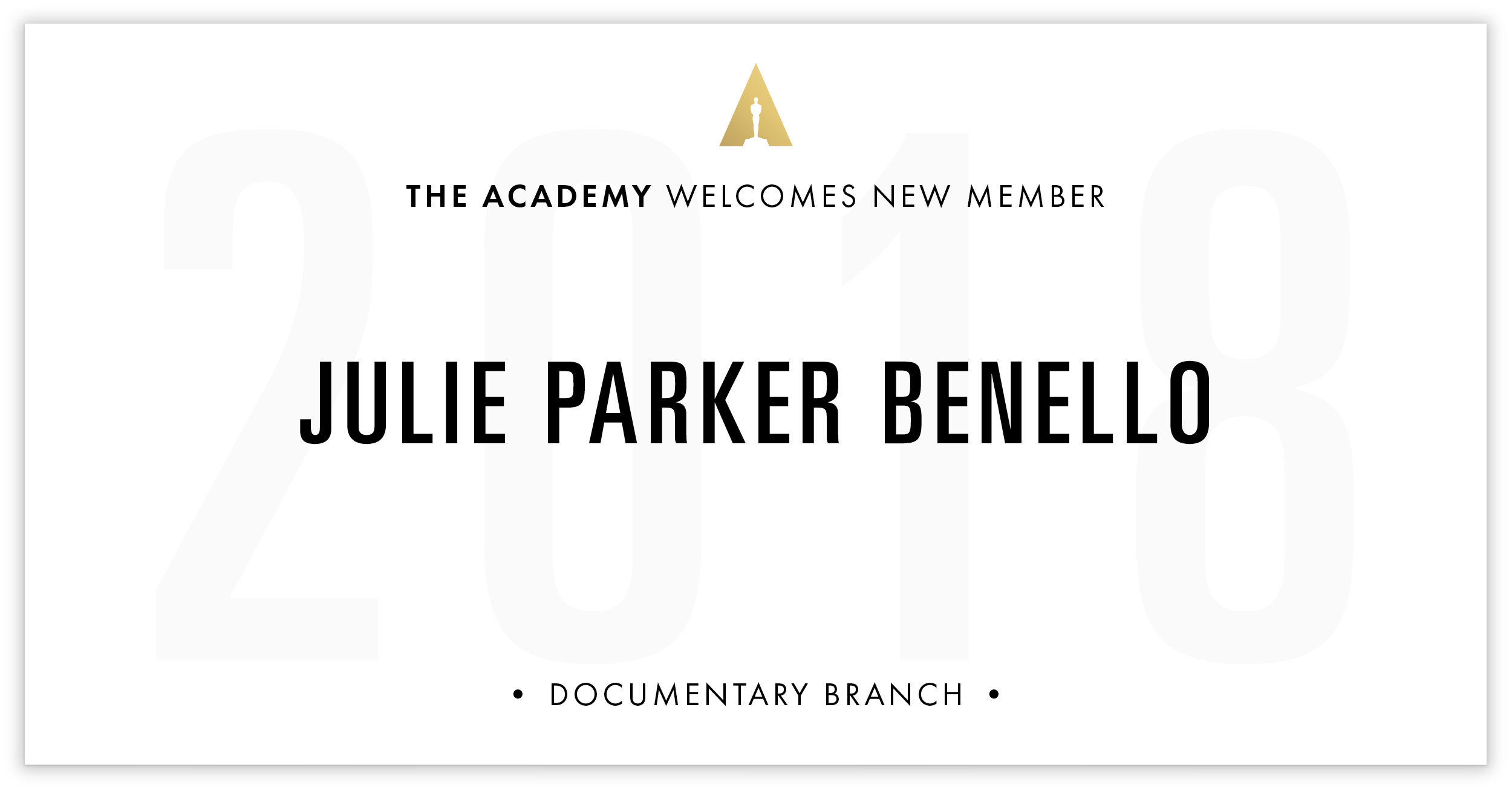 Julie Benello is invited!