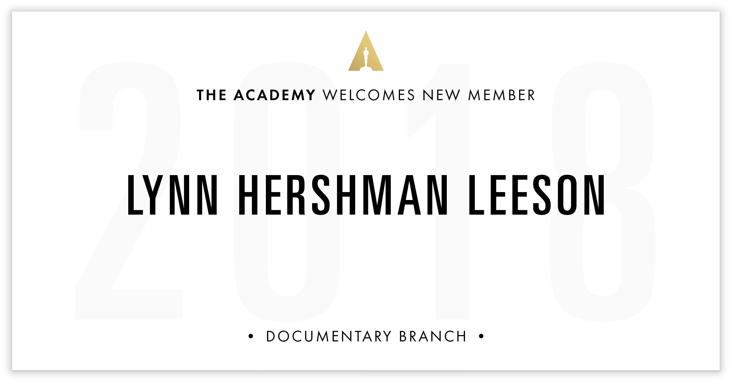 Lynn Hershman Leeson is invited!