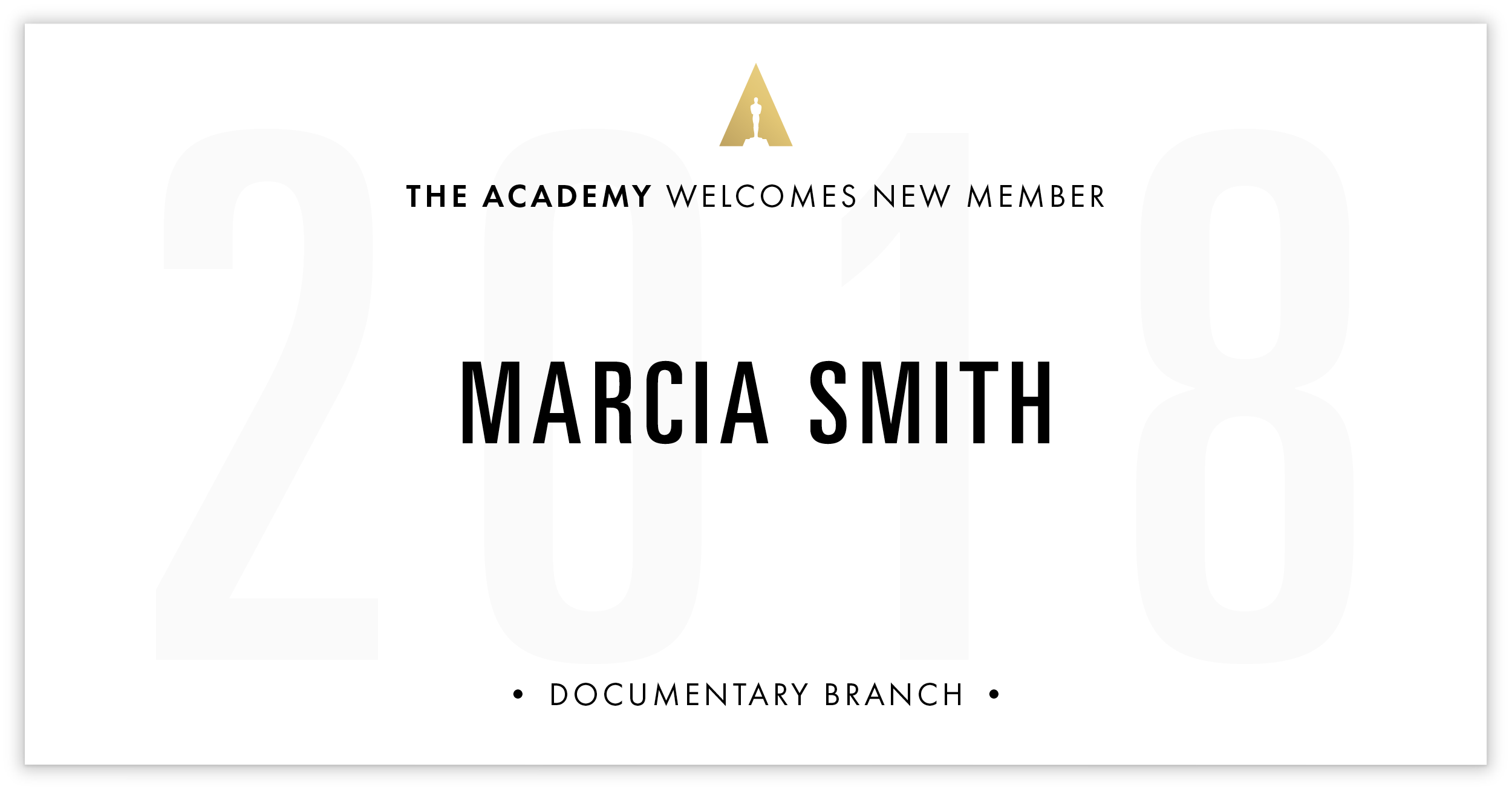 Marcia Smith is invited!