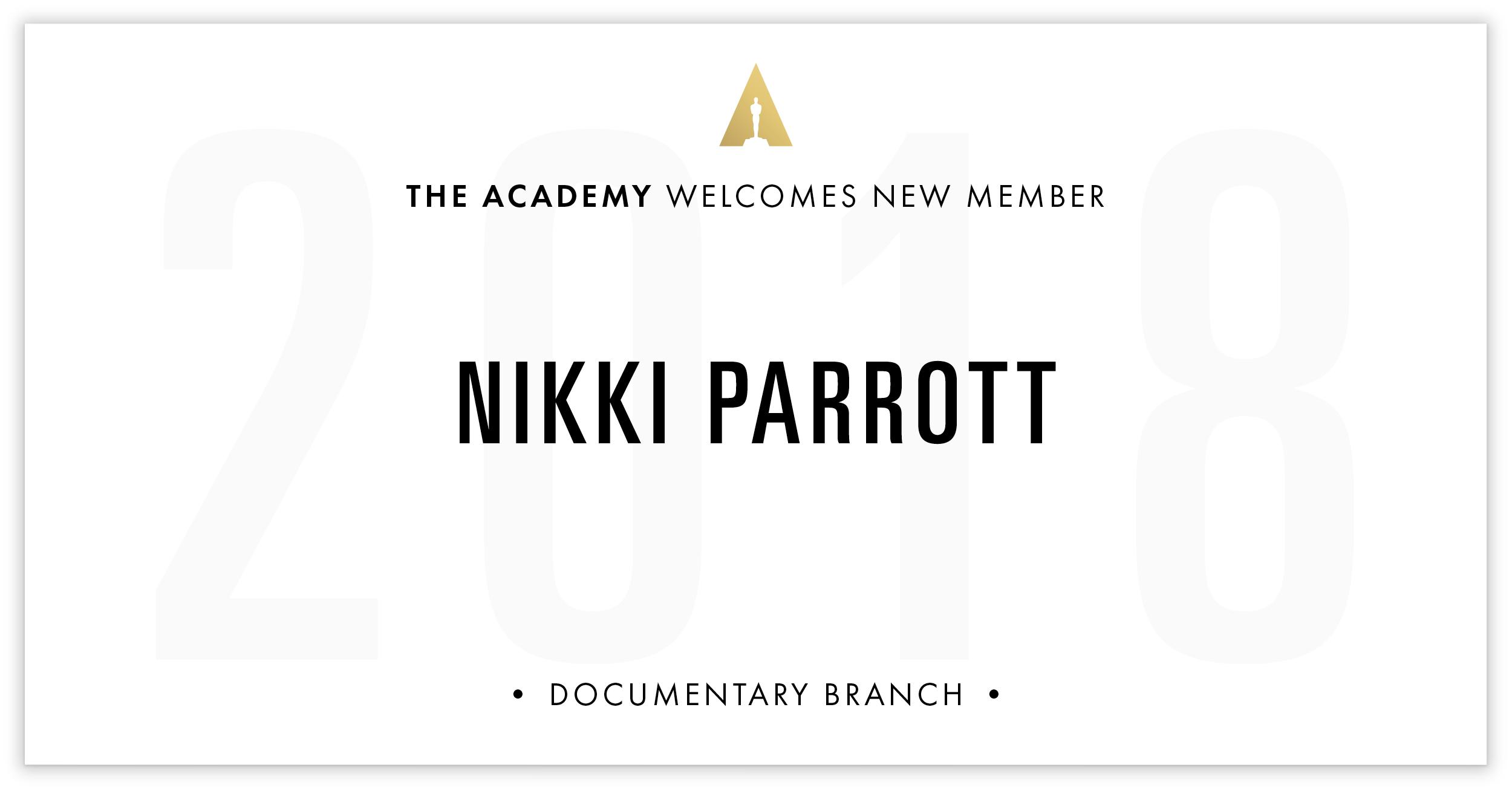 Nikki Parrott is invited!