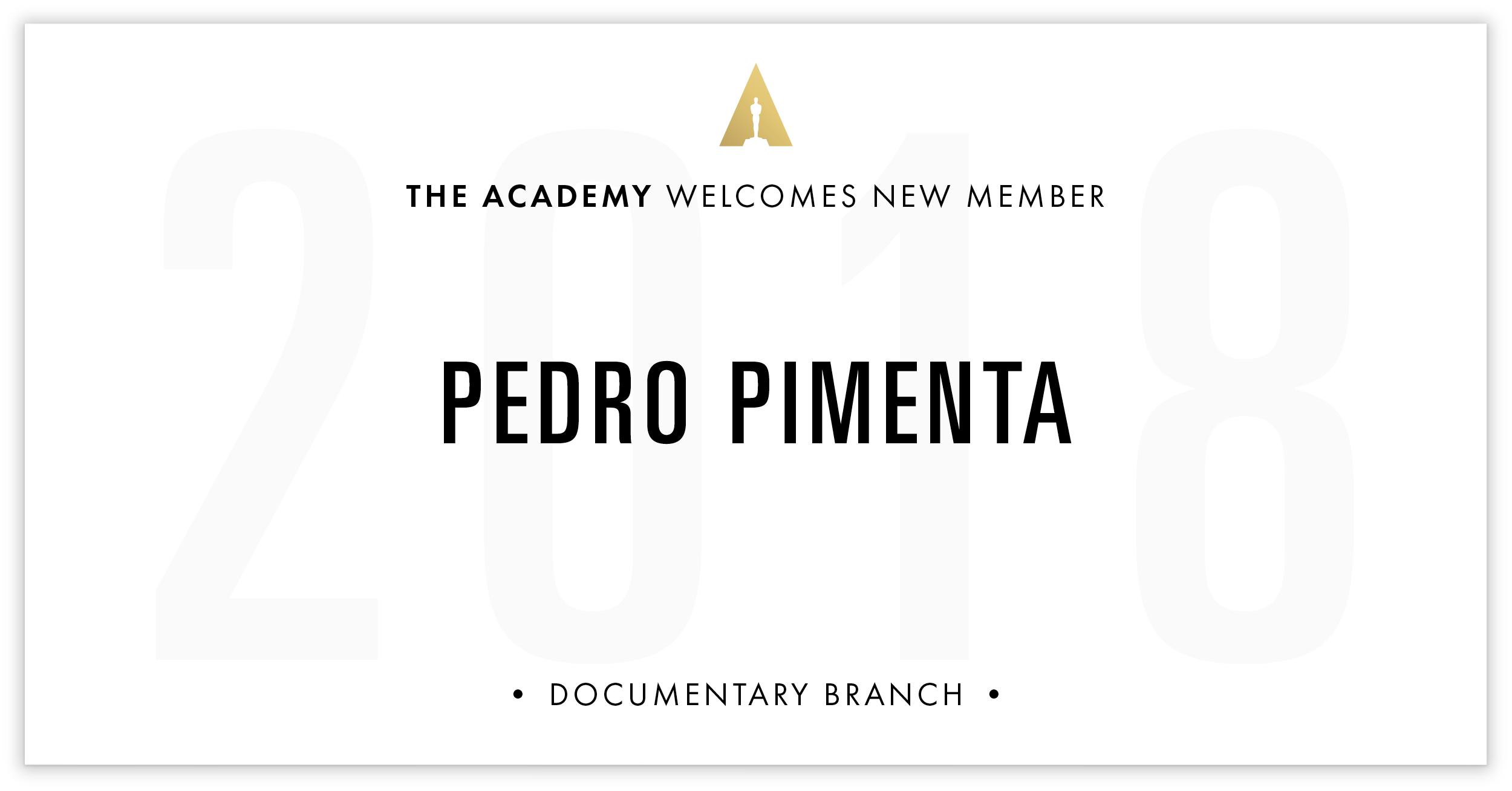Pedro Pimenta is invited!