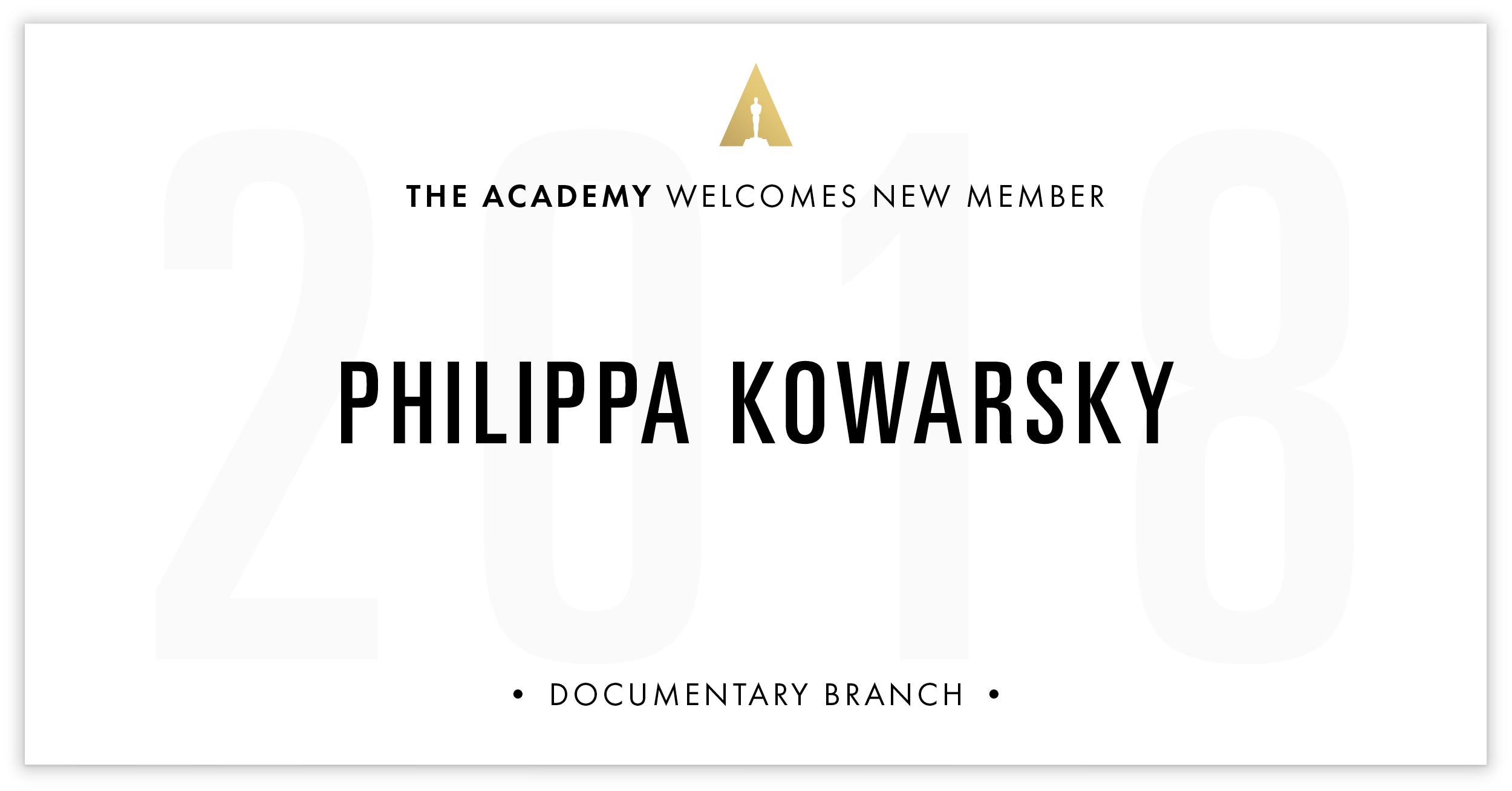 Philippa Kowarsky is invited!