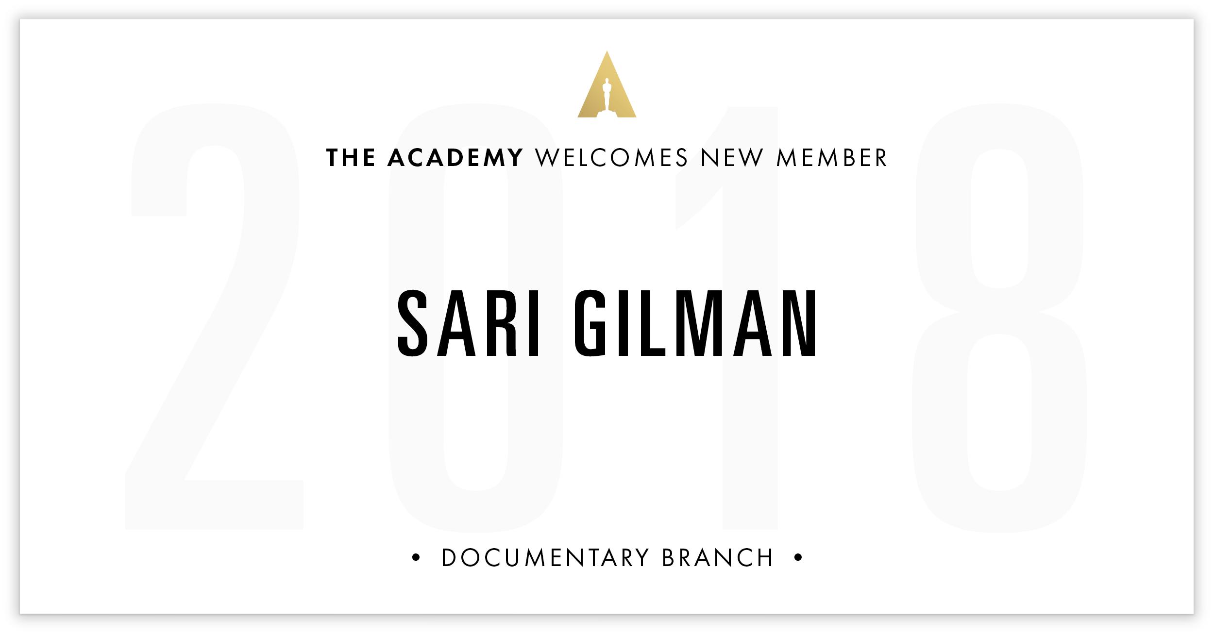 Sari Gilman is invited!