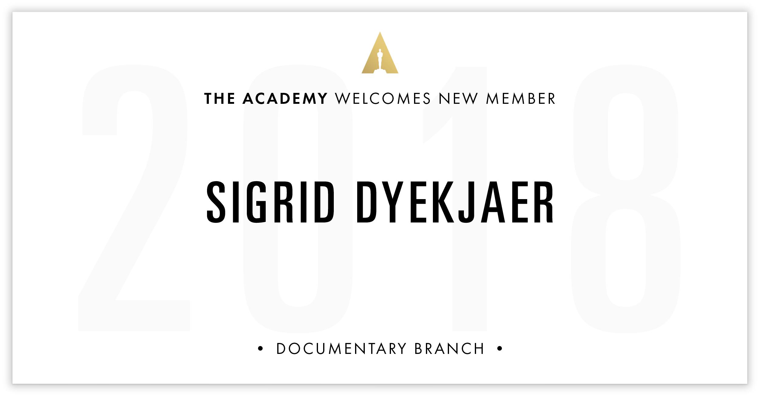 Sigrid Dyekjaer is invited!