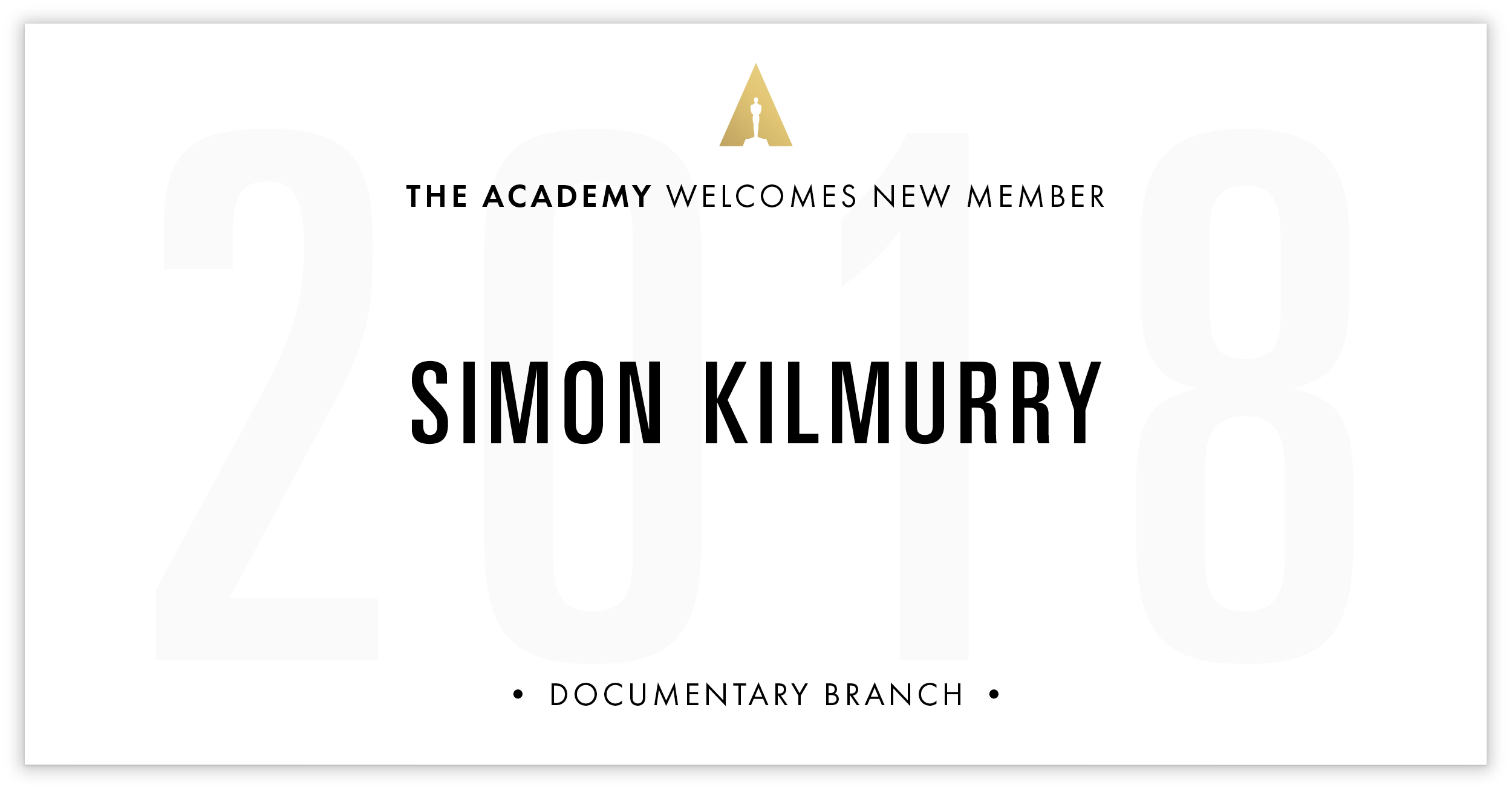 Simon Kilmurry is invited!