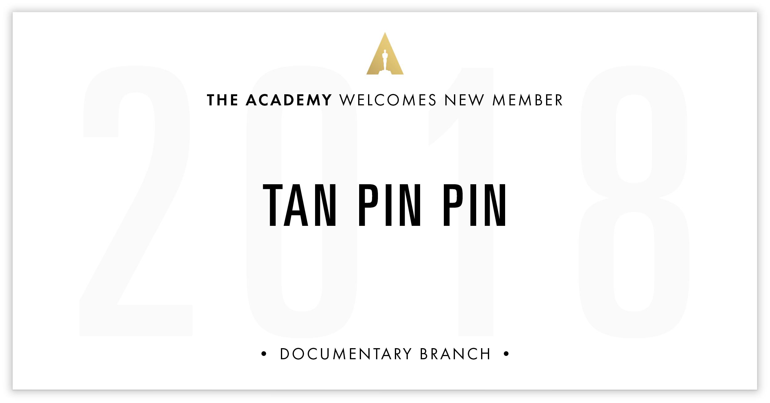 Tan Pin Pin is invited!