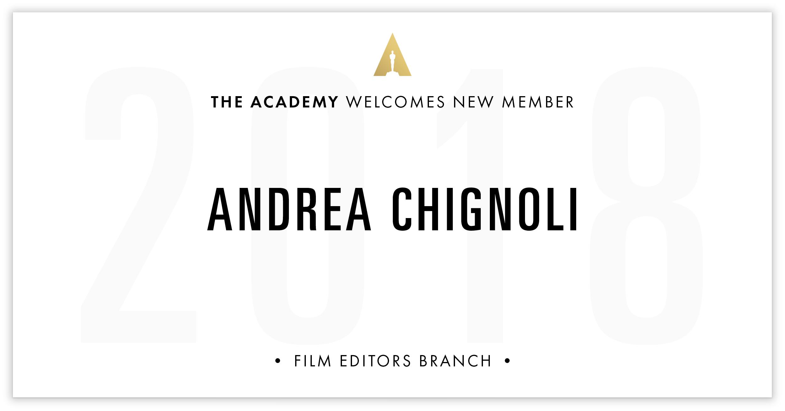 Andrea Chignoli is invited!