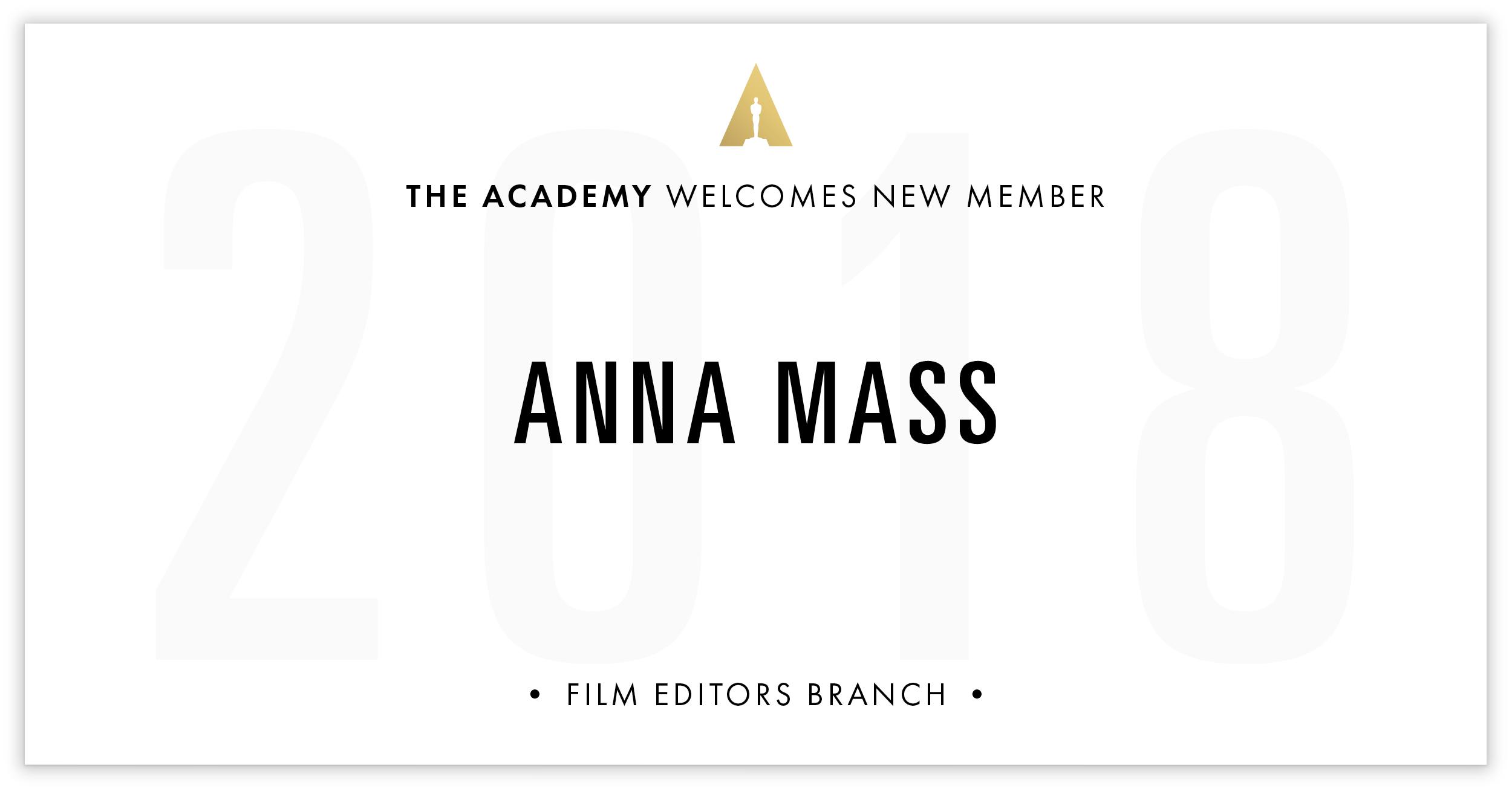 Anna Mass is invited!
