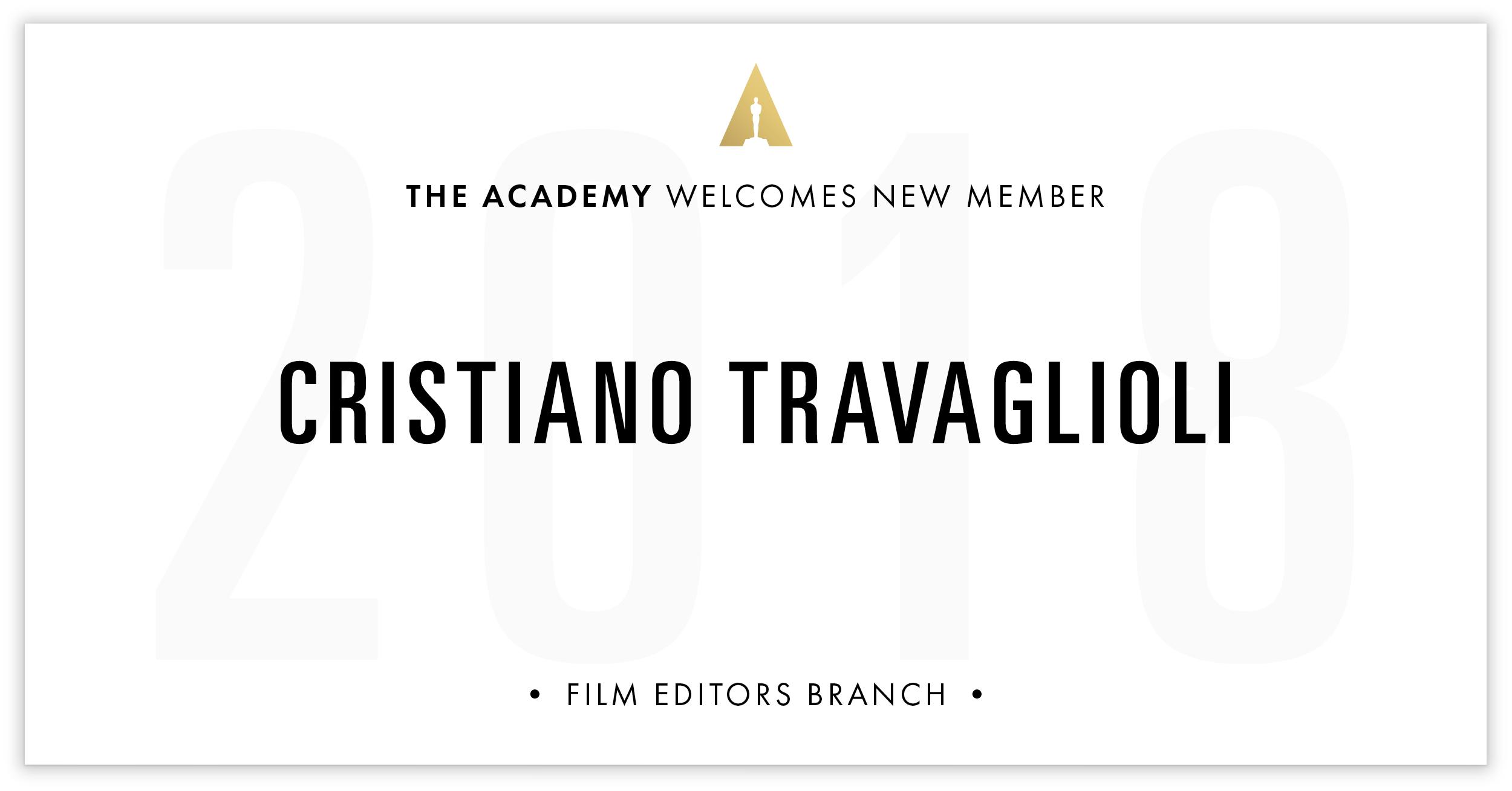 Cristiano Travaglioli is invited!