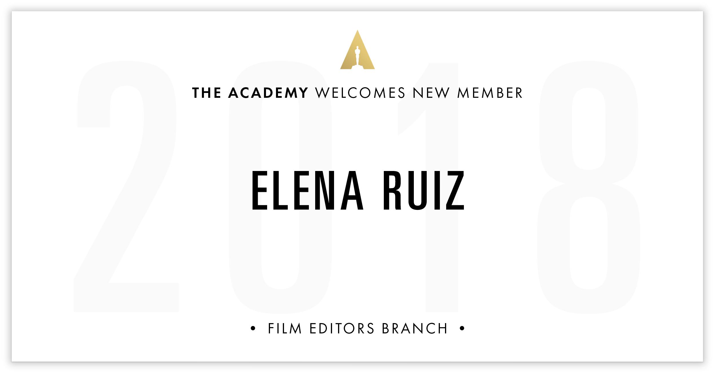 Elena Ruiz is invited!