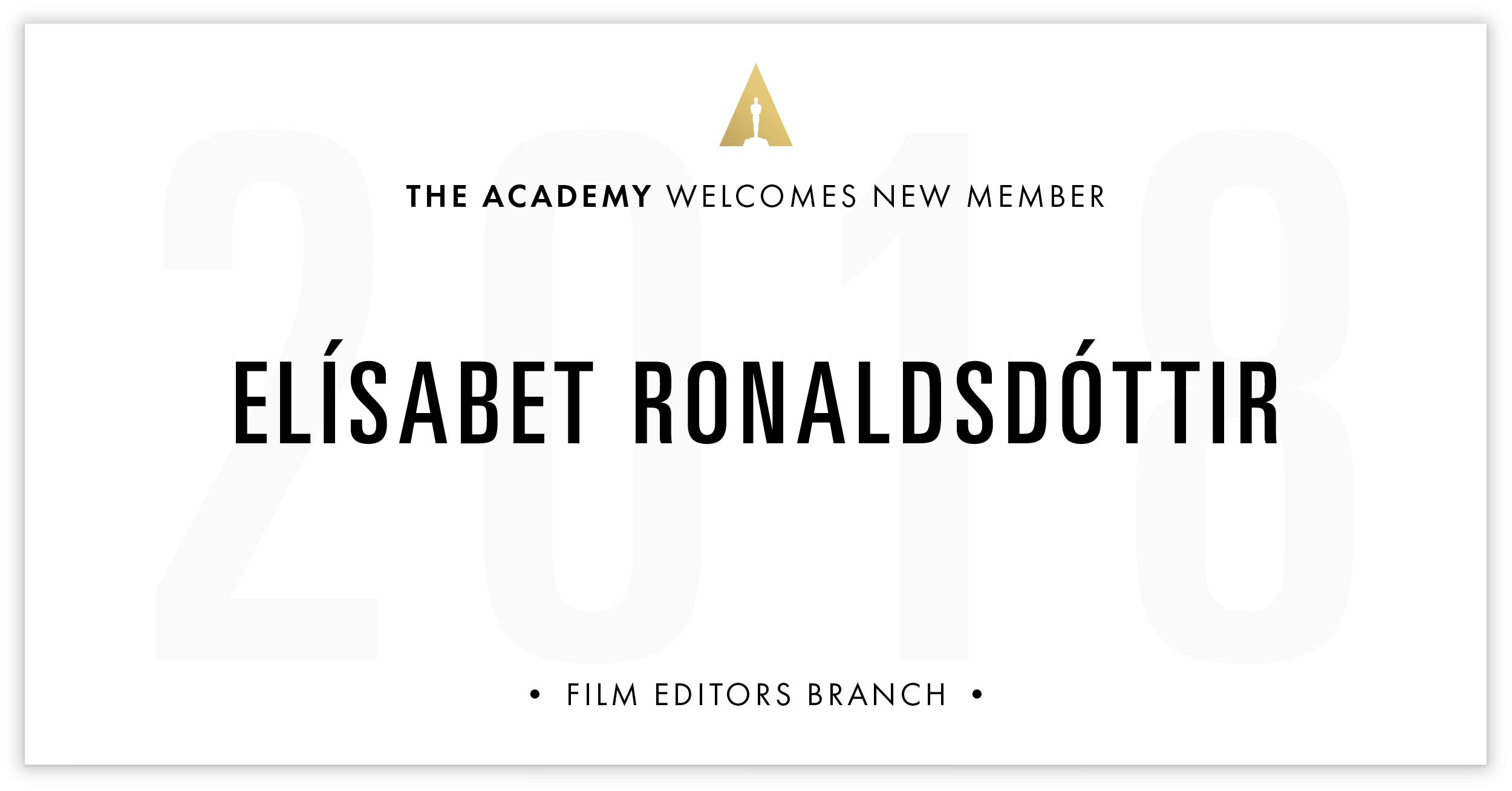 Elísabet Ronaldsdóttir is invited!