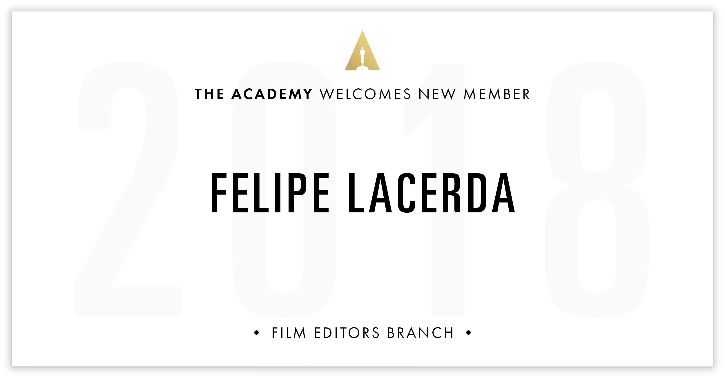 Felipe Lacerda is invited!