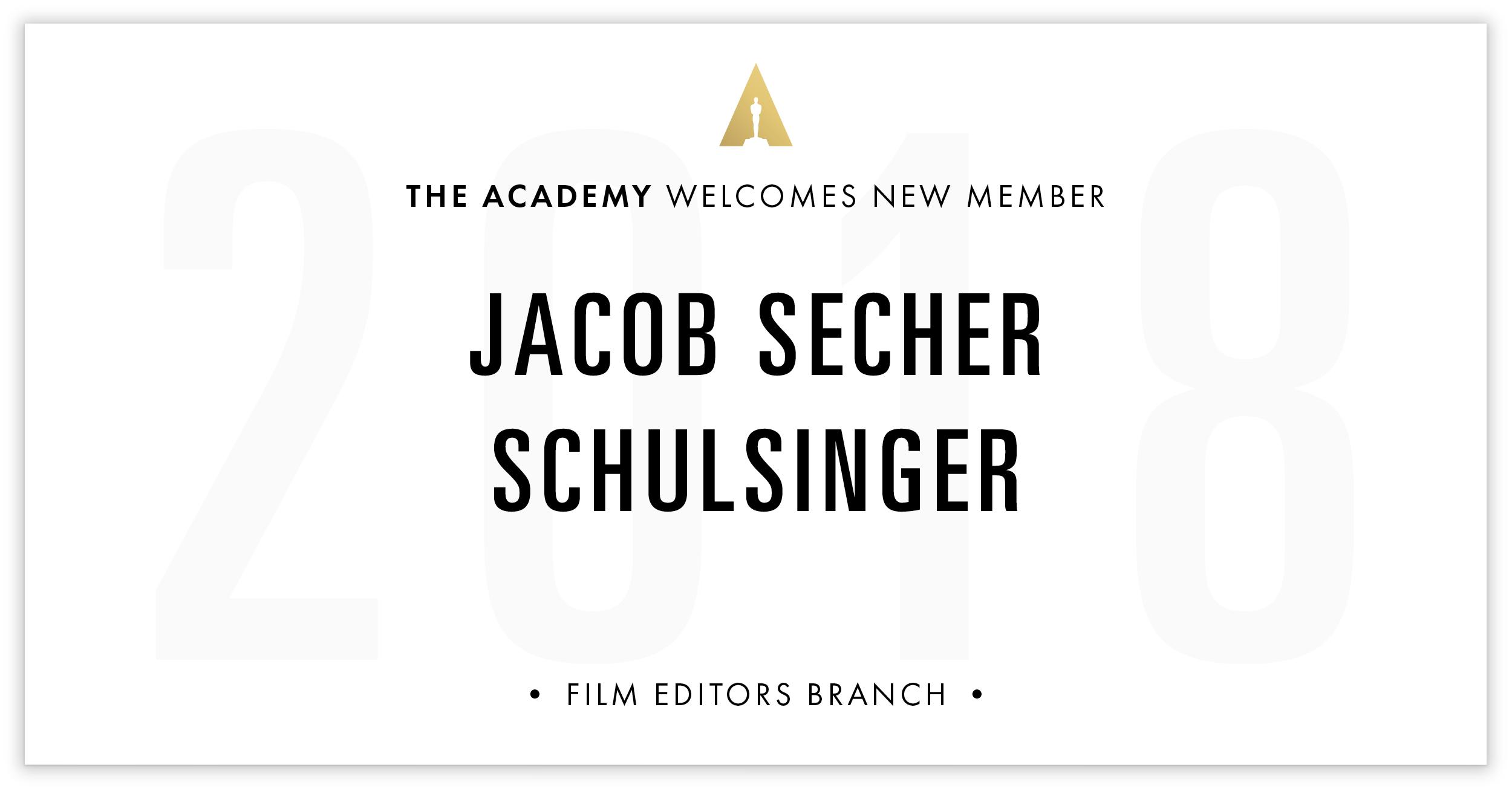 Jacob Schulsinger is invited!