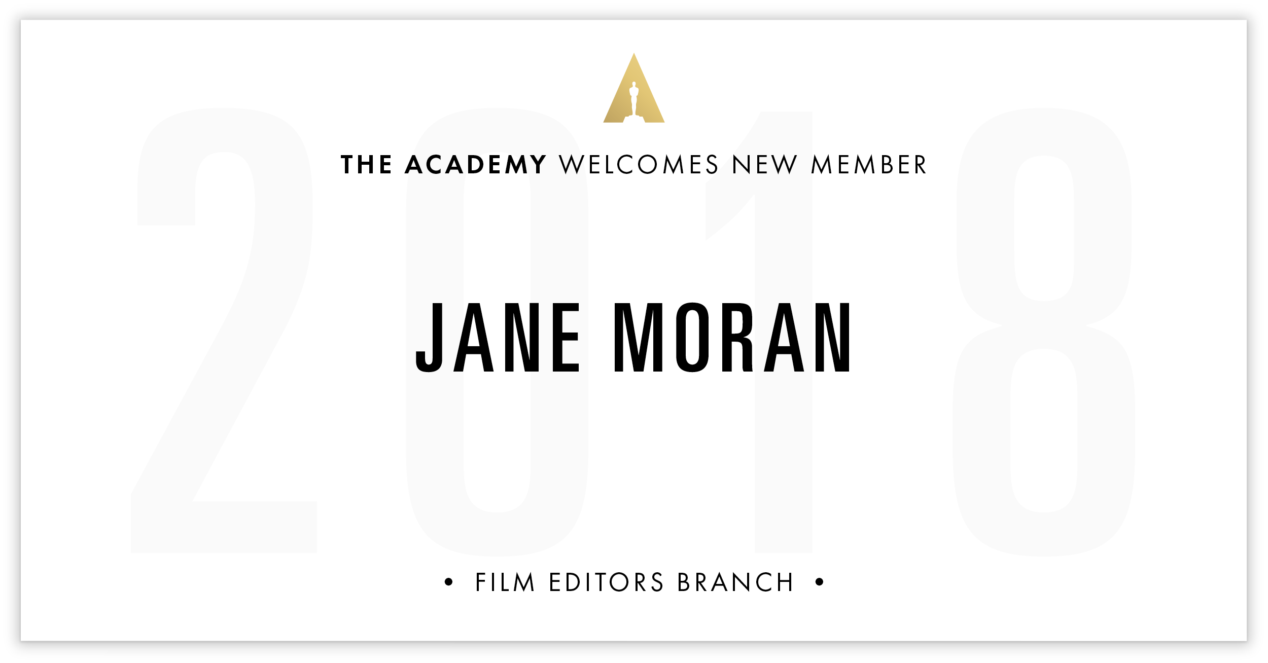 Jane Moran is invited!