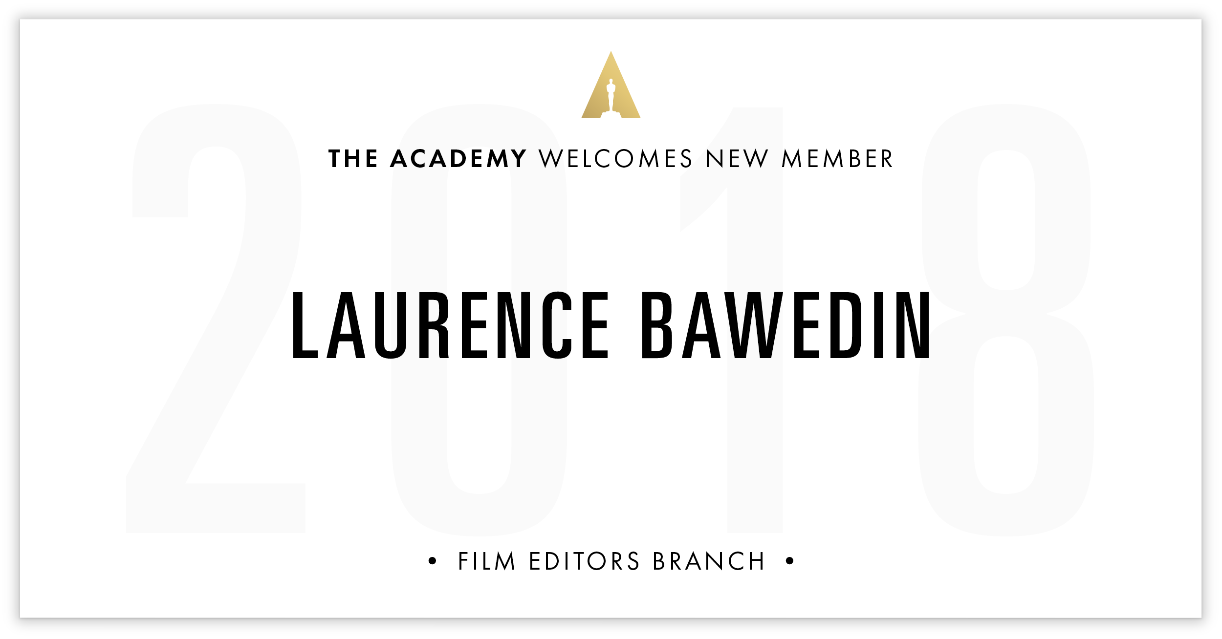 Laurence Bawedin is invited!