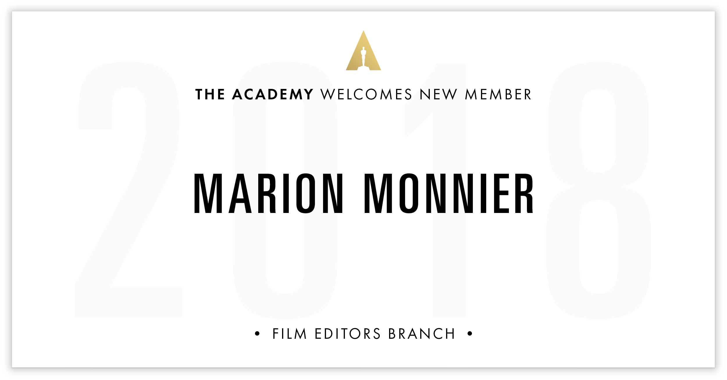 Marion Monnier is invited!